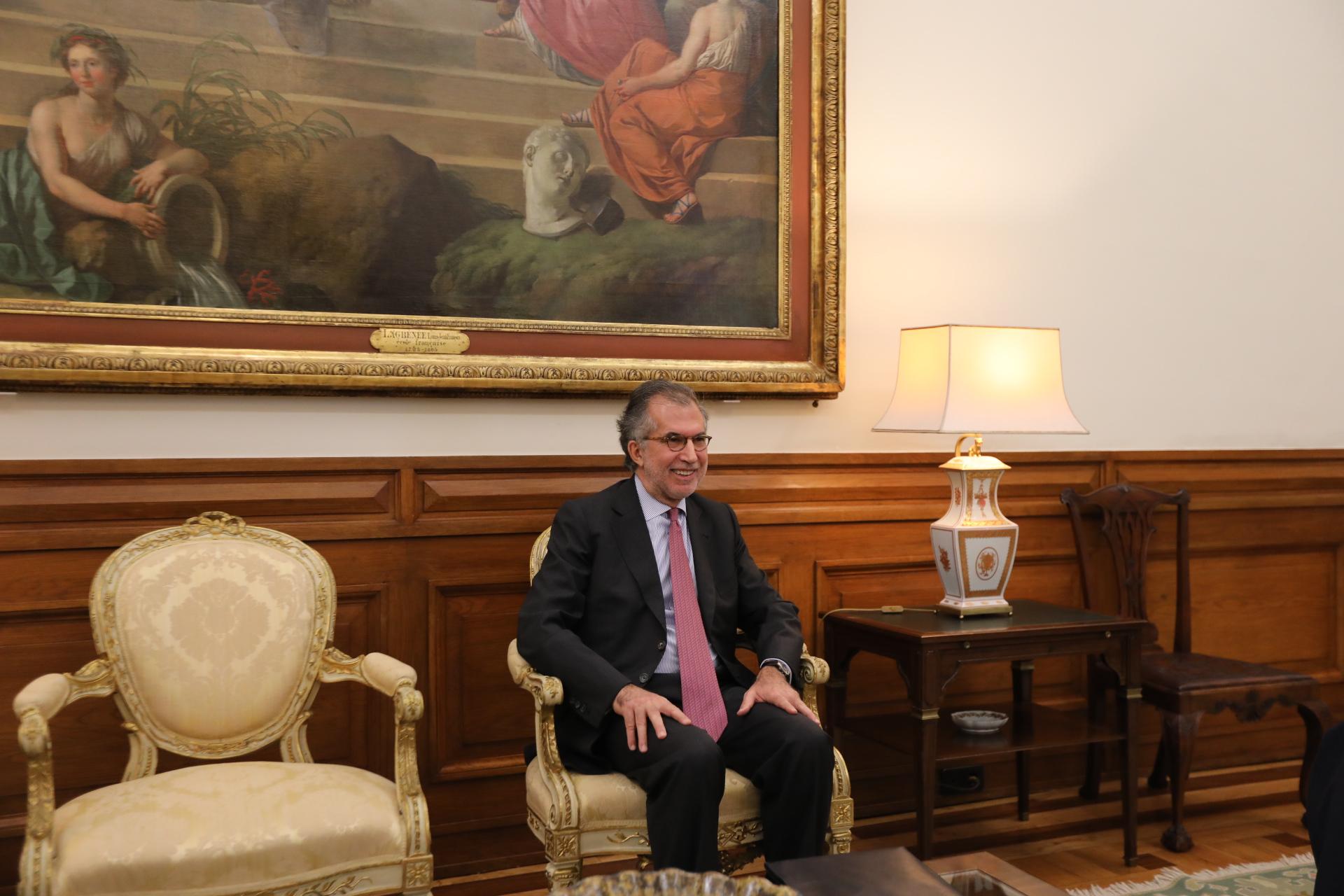 António Domingues só poderá acumular os cargos de CEO e chairman durante seis meses