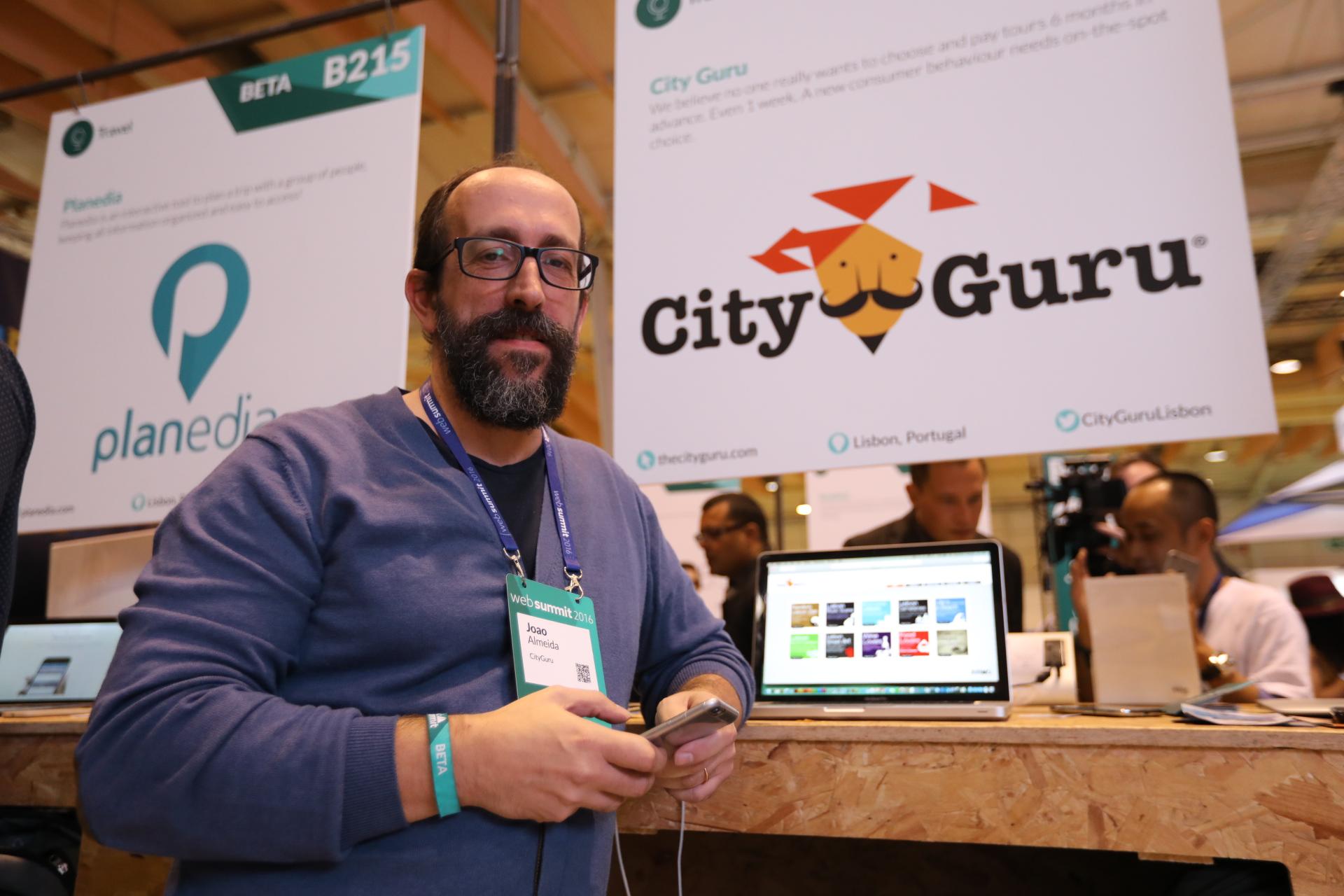 João Almeida, CEO da City Guru.