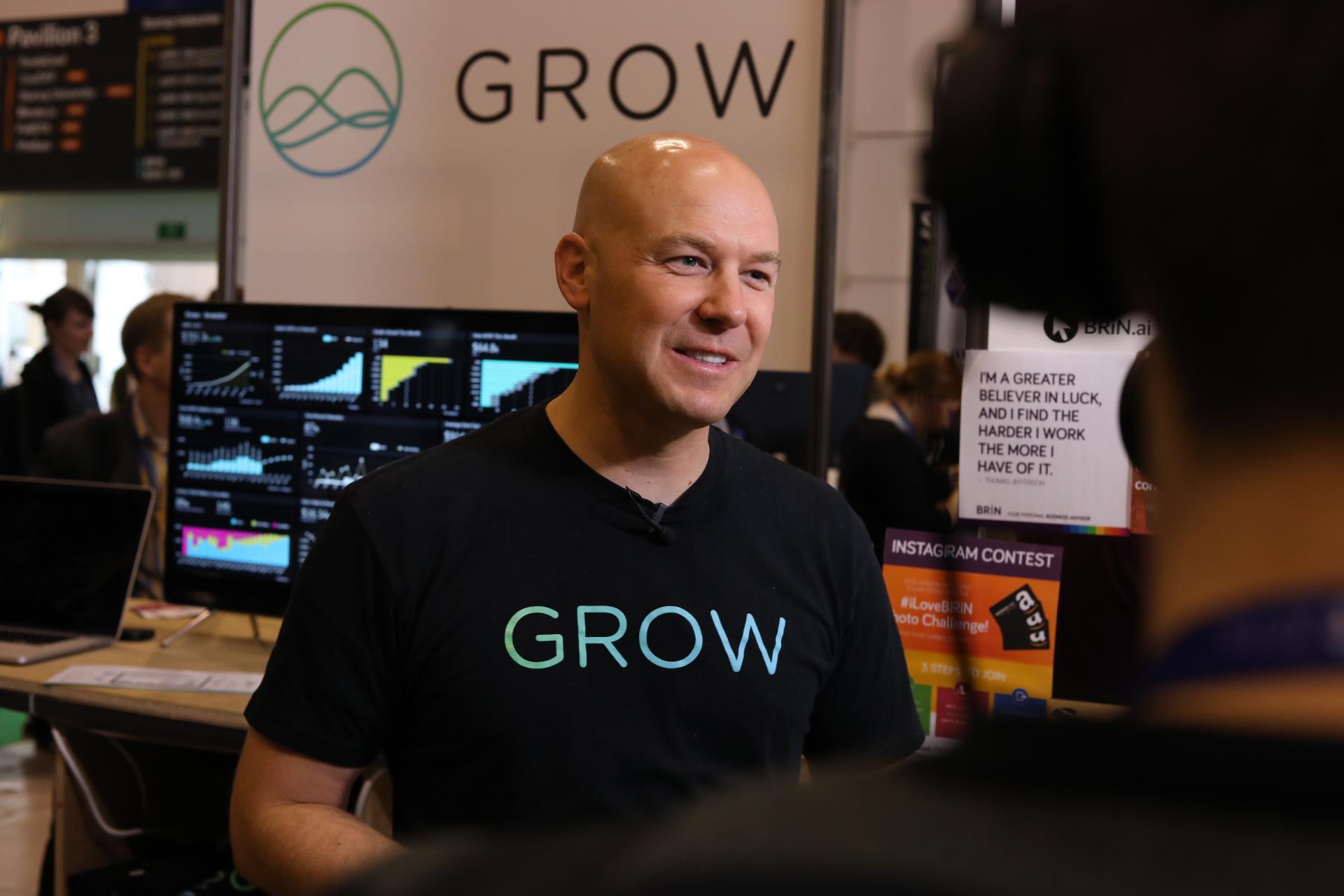 Rob Nelson, fundador da Grow.