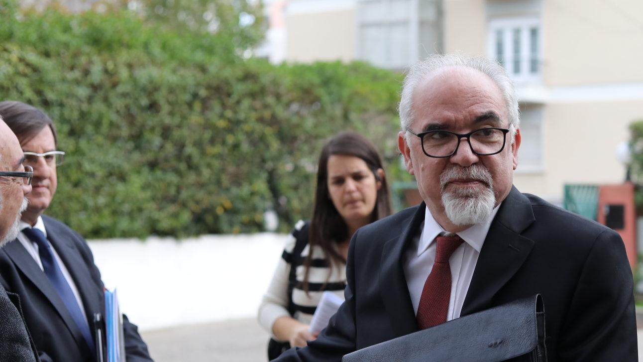 Vieira da Silva, ministro do Trabalho e Segurança Social.