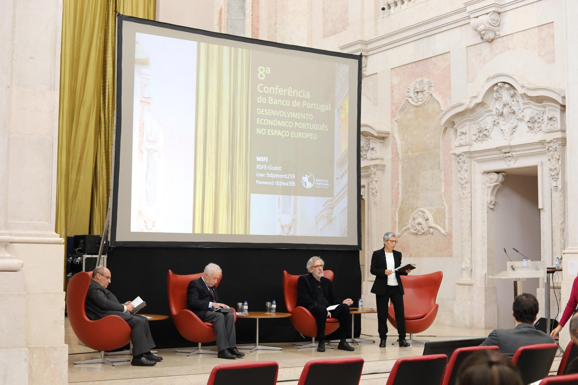 """8.ª Conferência """"Desenvolvimento Económico Português no Espaço Europeu"""""""