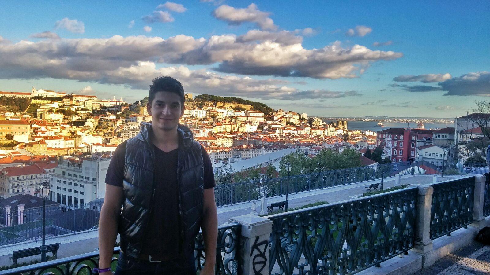 Christian Czapka, 22 anos. Vive em Munique e foi voluntário no Web Summit.