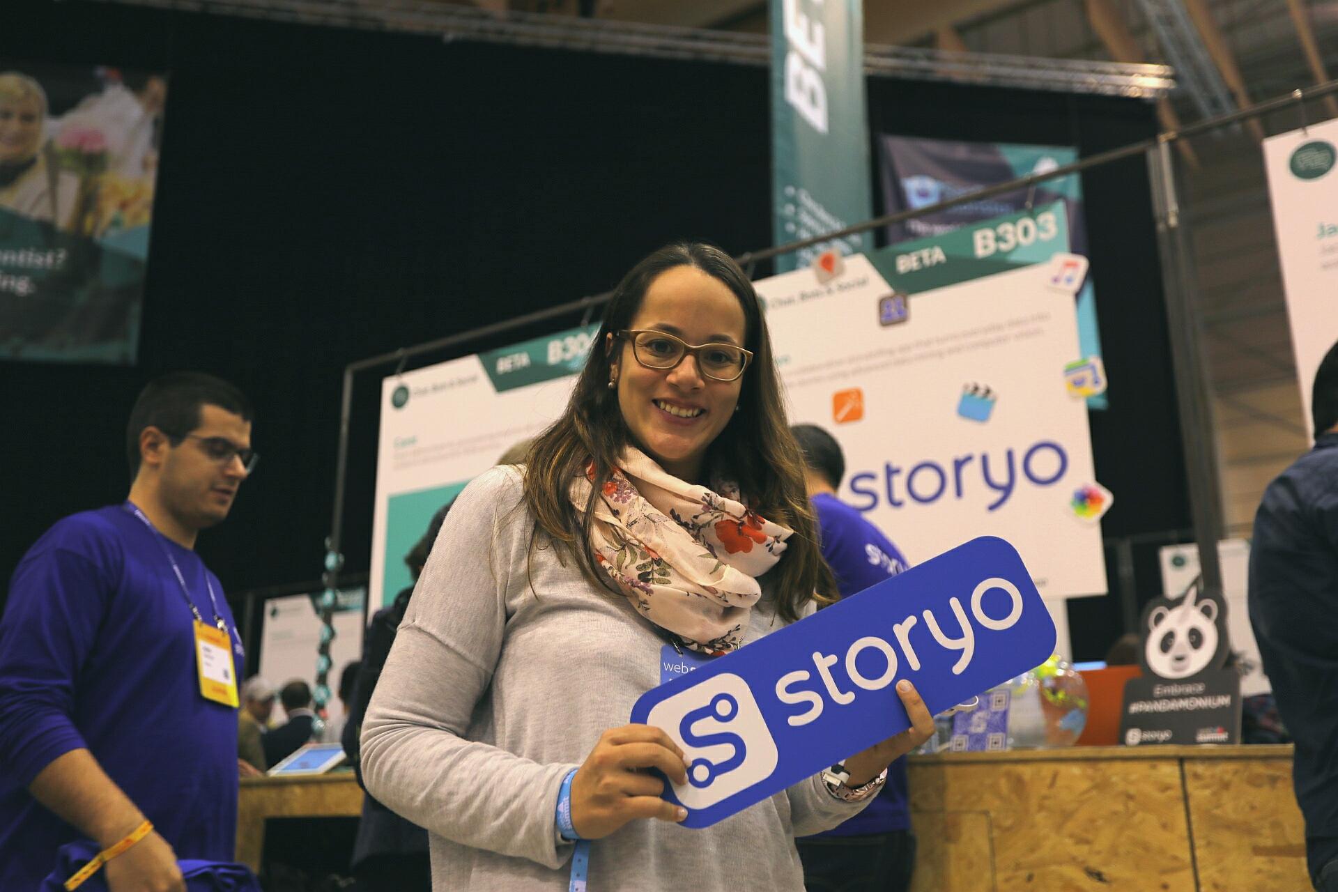 Inês Mateus, responsável de marketing da Storyo.