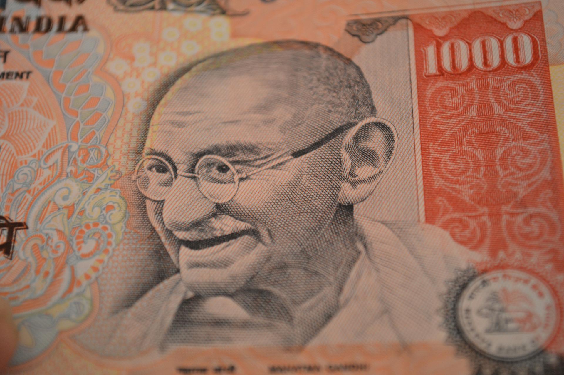 rupees 1000 rupias