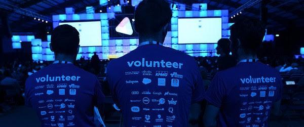 web summit volunteers