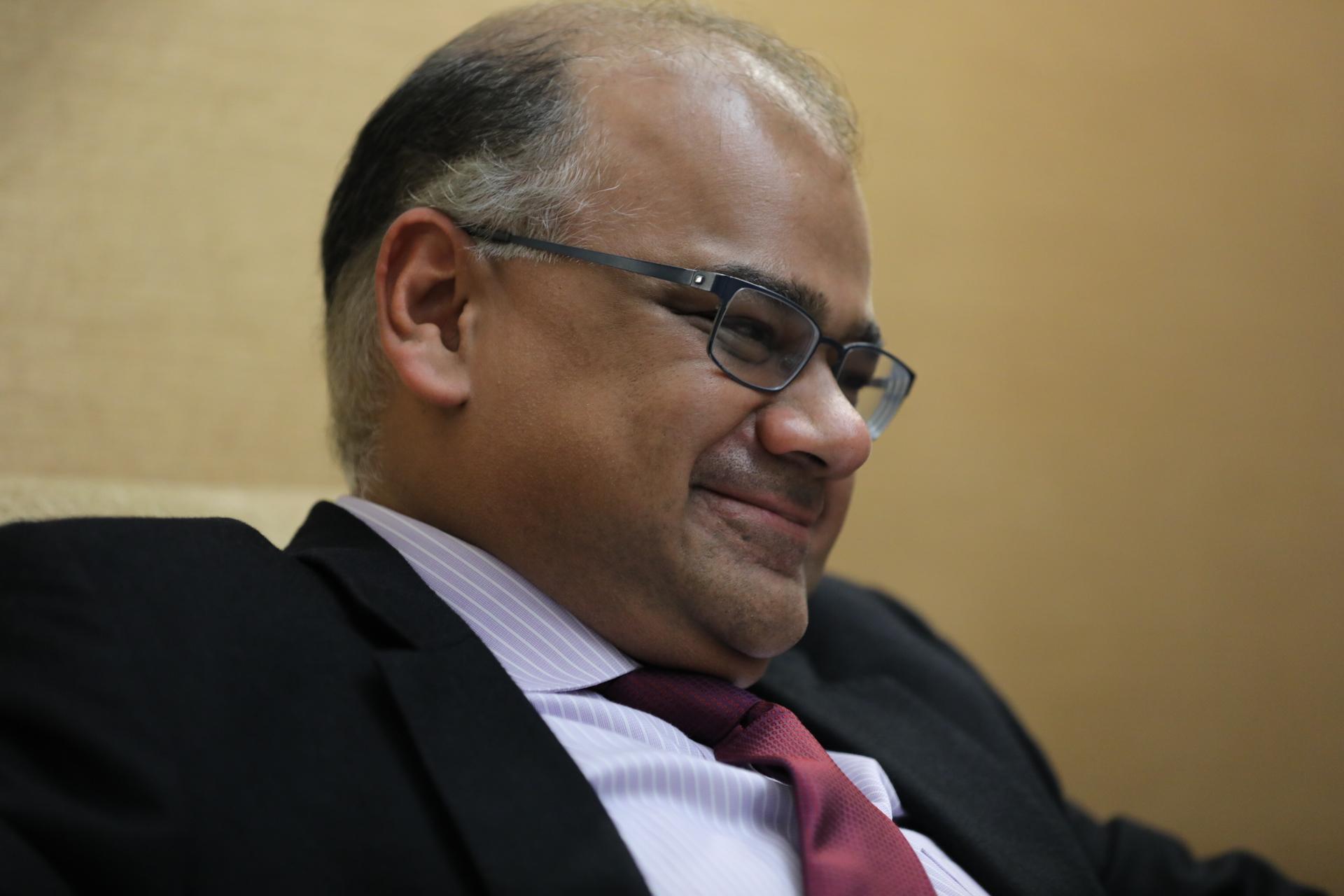 Subir Lall, chefe de missão do FMI para Portugal