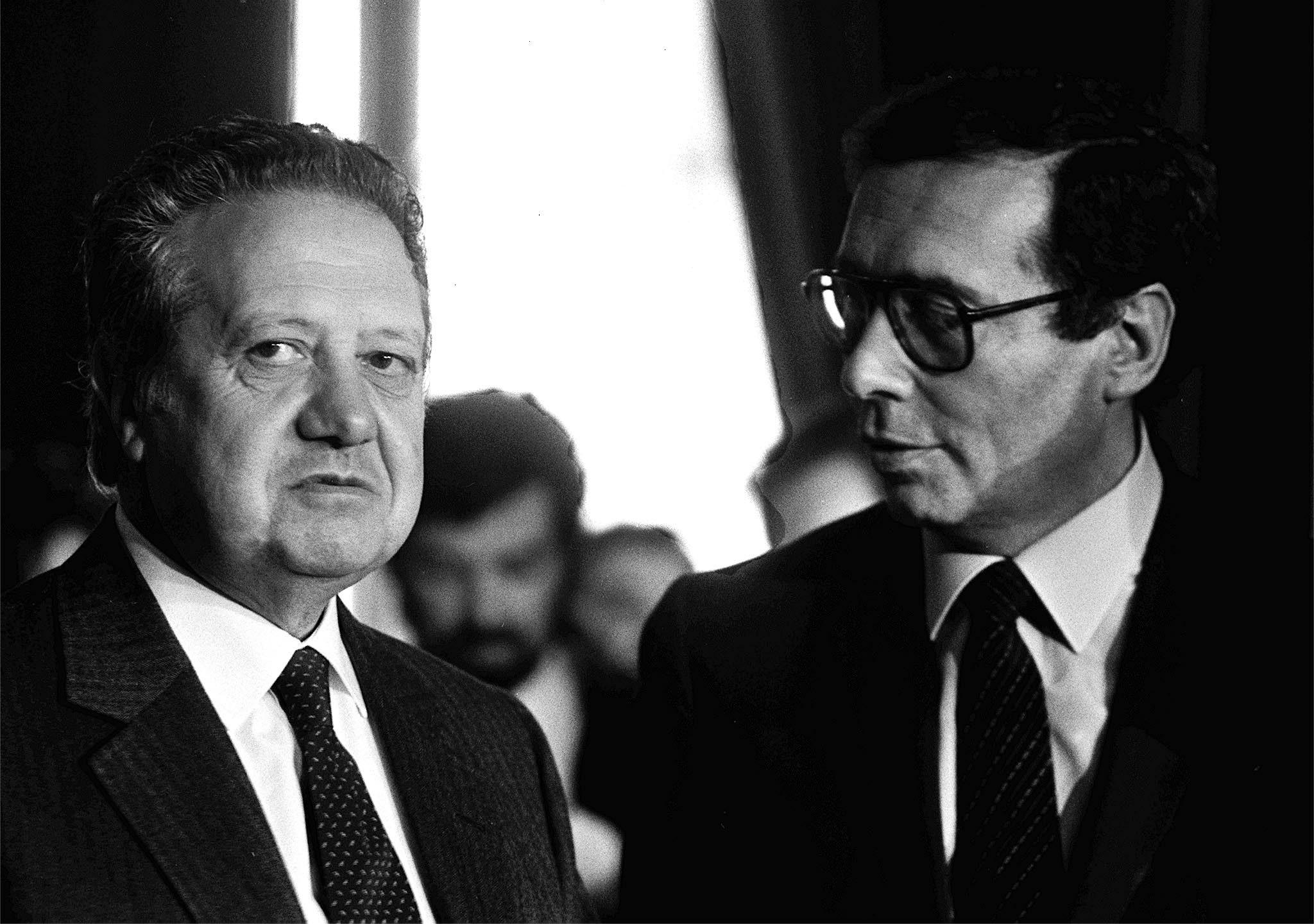 Mário Soares e Carlos Mota Pinto