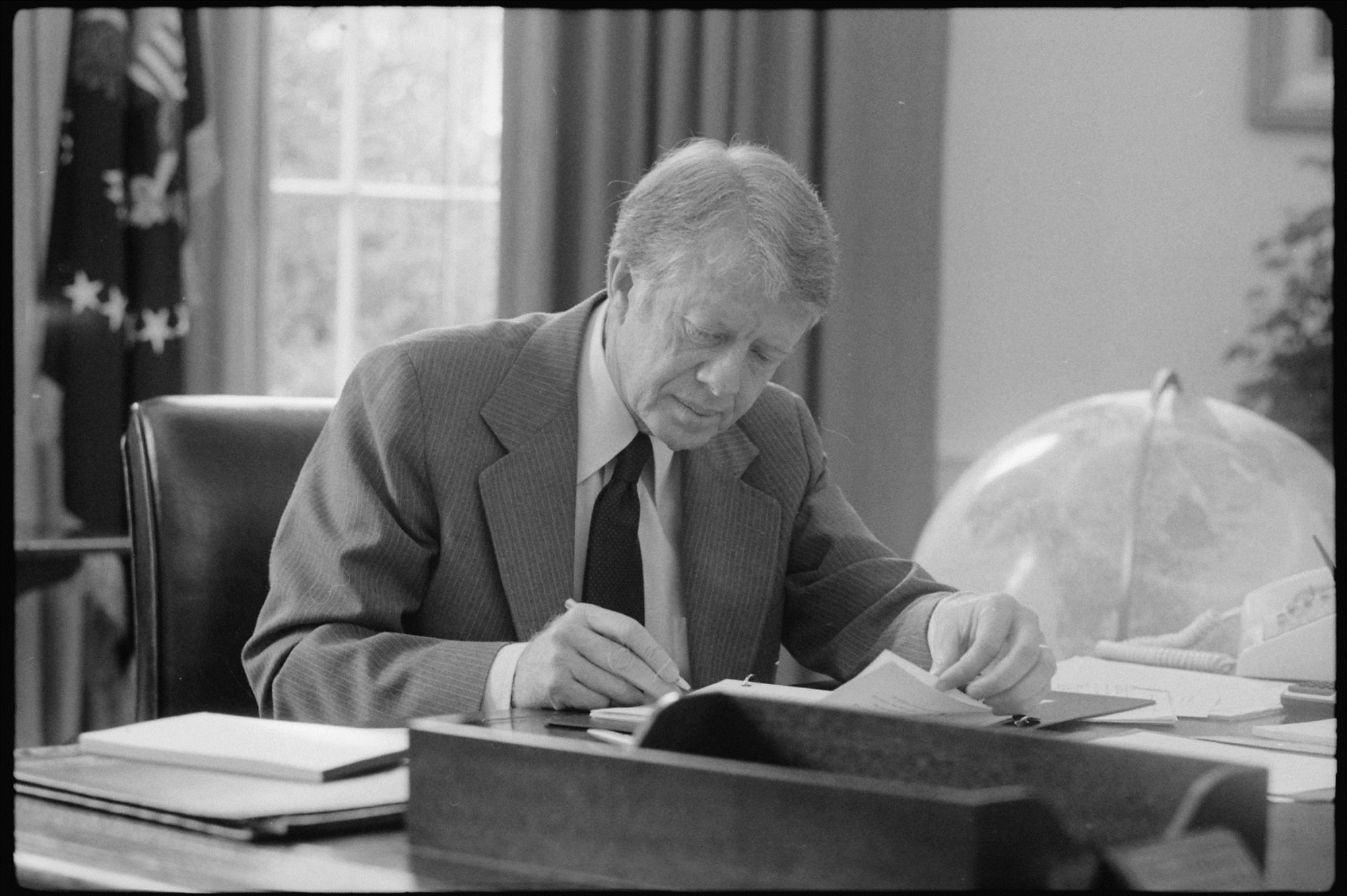 Jimmy Carter acabaria por perder as eleições contra Reagan em parte por causa do embargo de cereal.