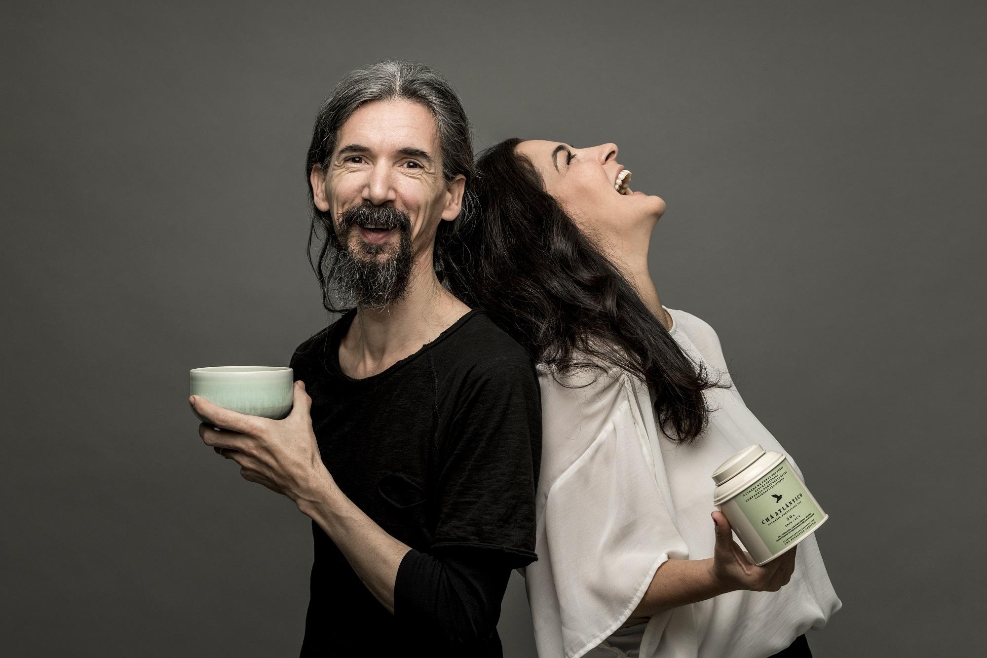 Sebastian Filgueiras e Sancha Trindade