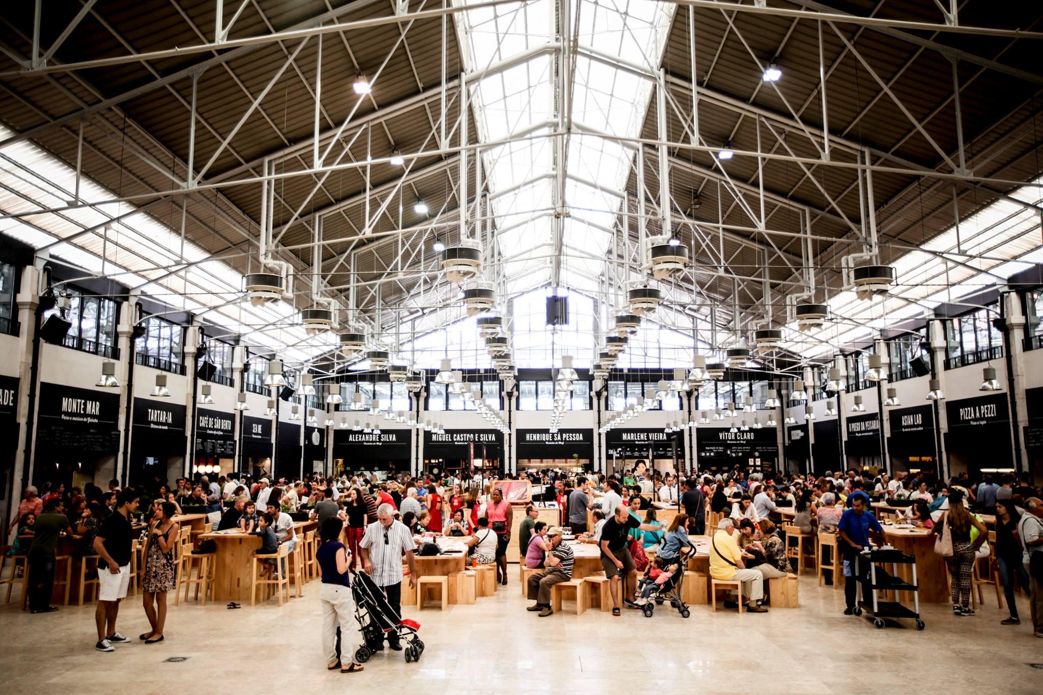 O primeiro Time Out Market foi inaugurado em 2014, em Lisboa.