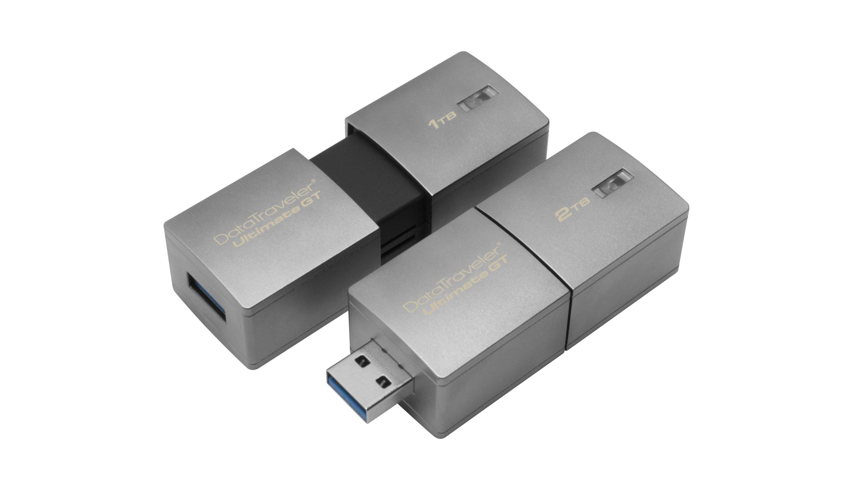 A Kingston Digital lançou uma pendrive com capacidade de 2 TB.
