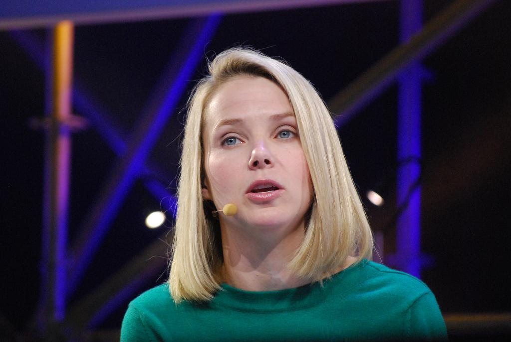 Marissa Mayer, CEO da Yahoo.