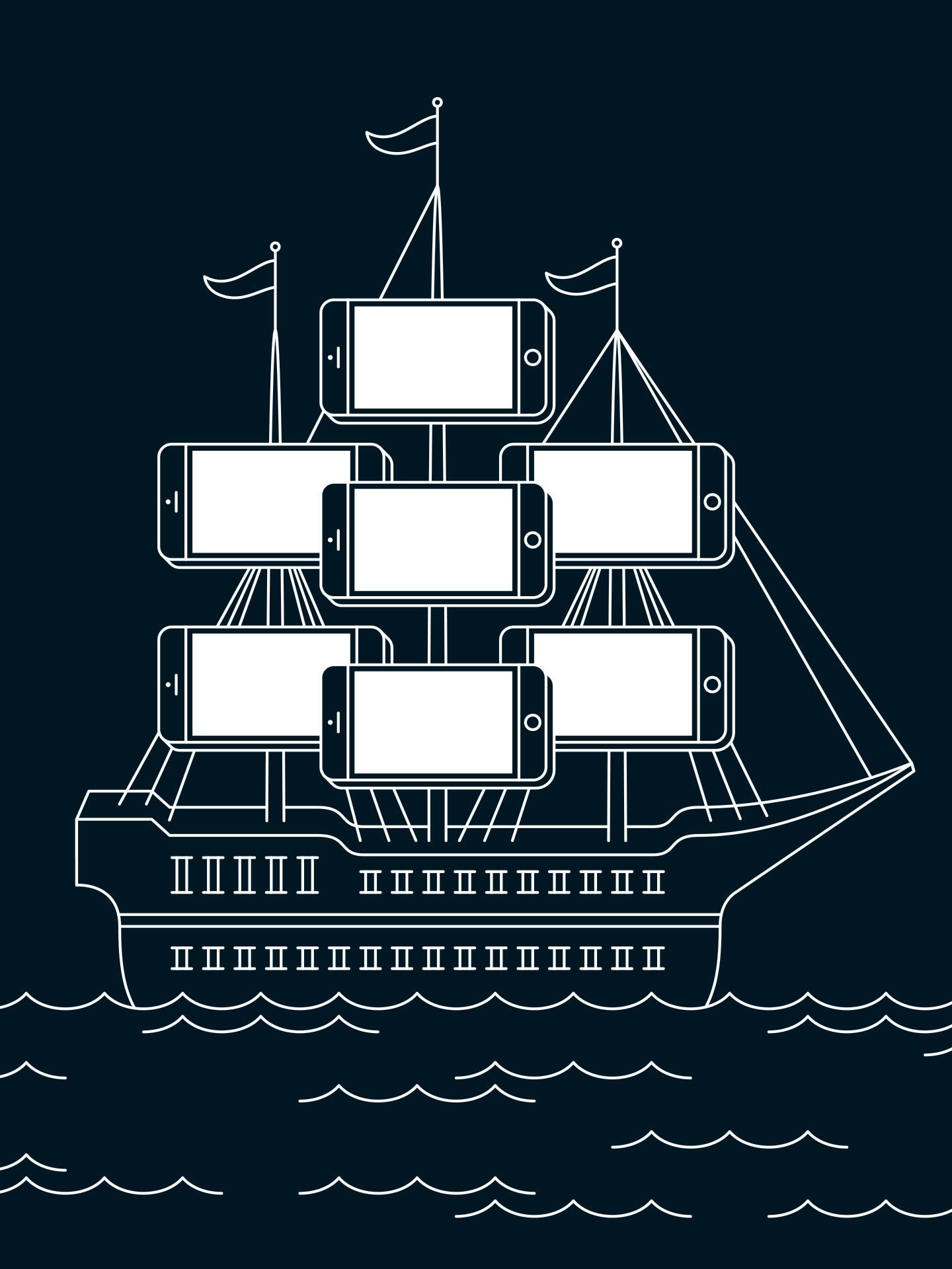 Este desenho de Matt Chase ilustra o artigo da Bloomberg.