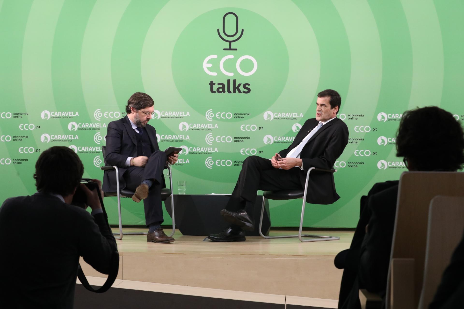 Rui Moreira, entrevistado pelo publisher do ECO, António Costa, no ECO talks.