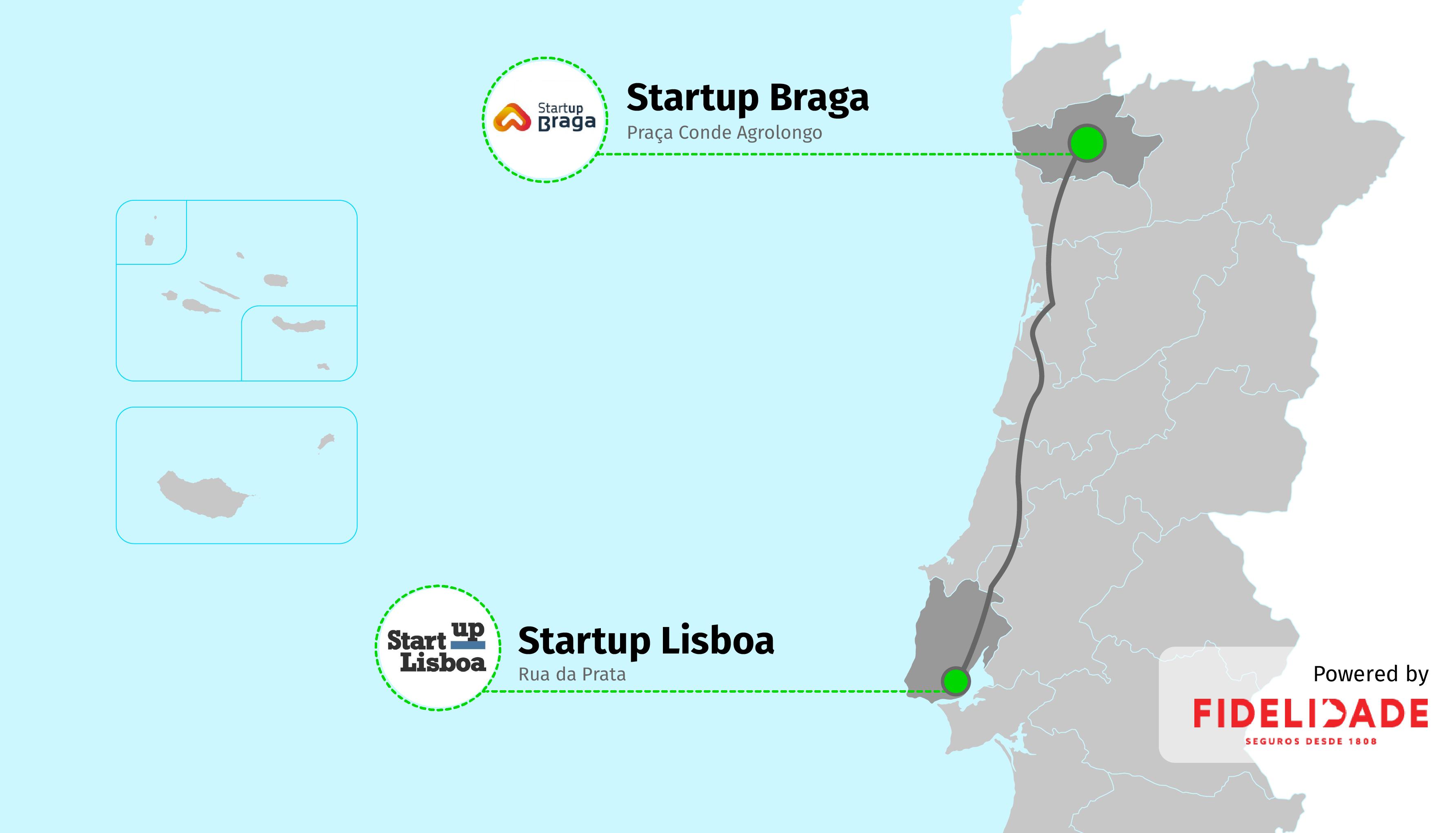 rua da prata lisboa mapa Volta a Portugal em incubadoras: Rumo a norte, até à Startup Braga  rua da prata lisboa mapa