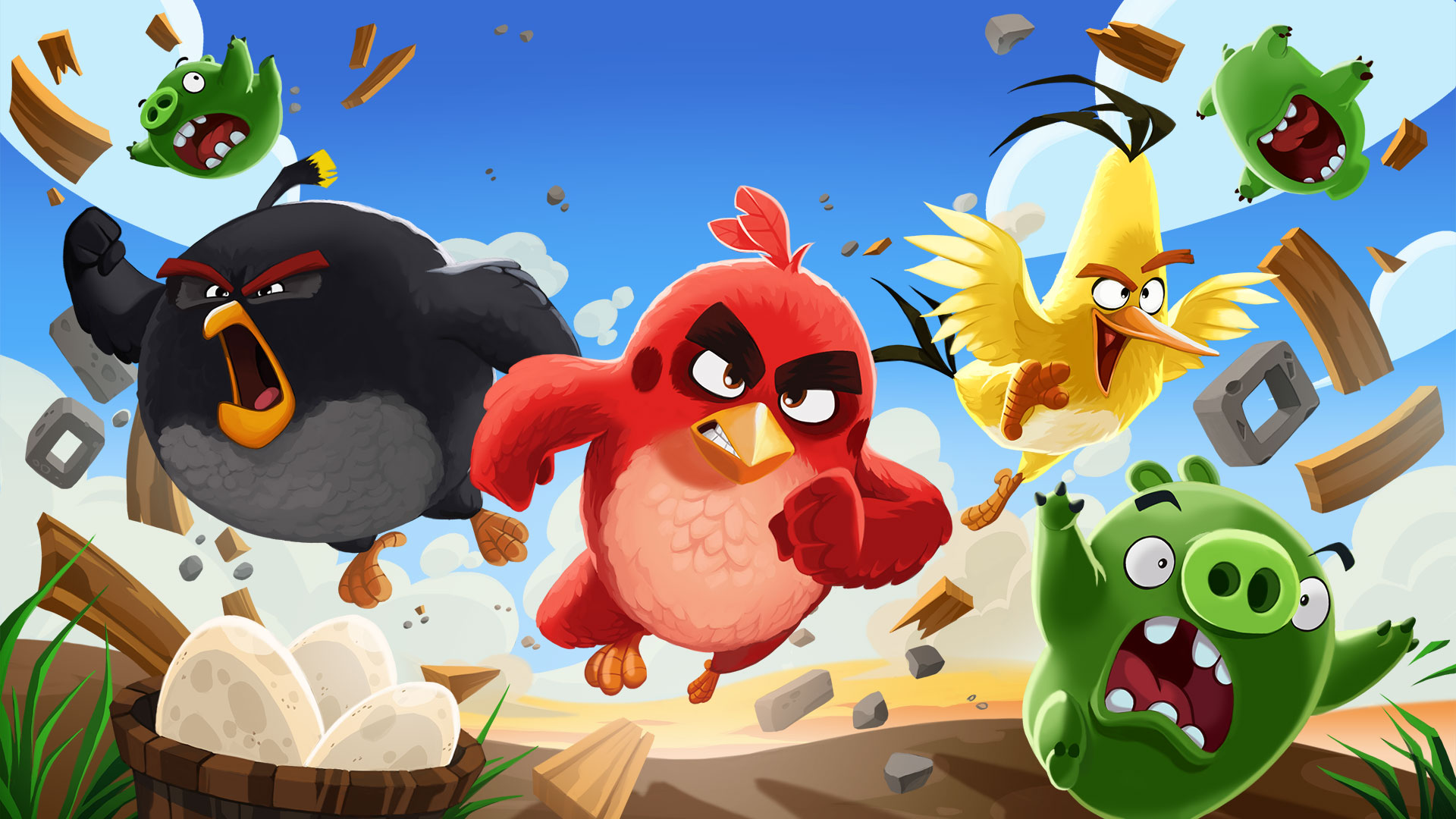 Images Of Angry Birds Characters: Angry Birds Na Bolsa A Valer Dois Mil Milhões