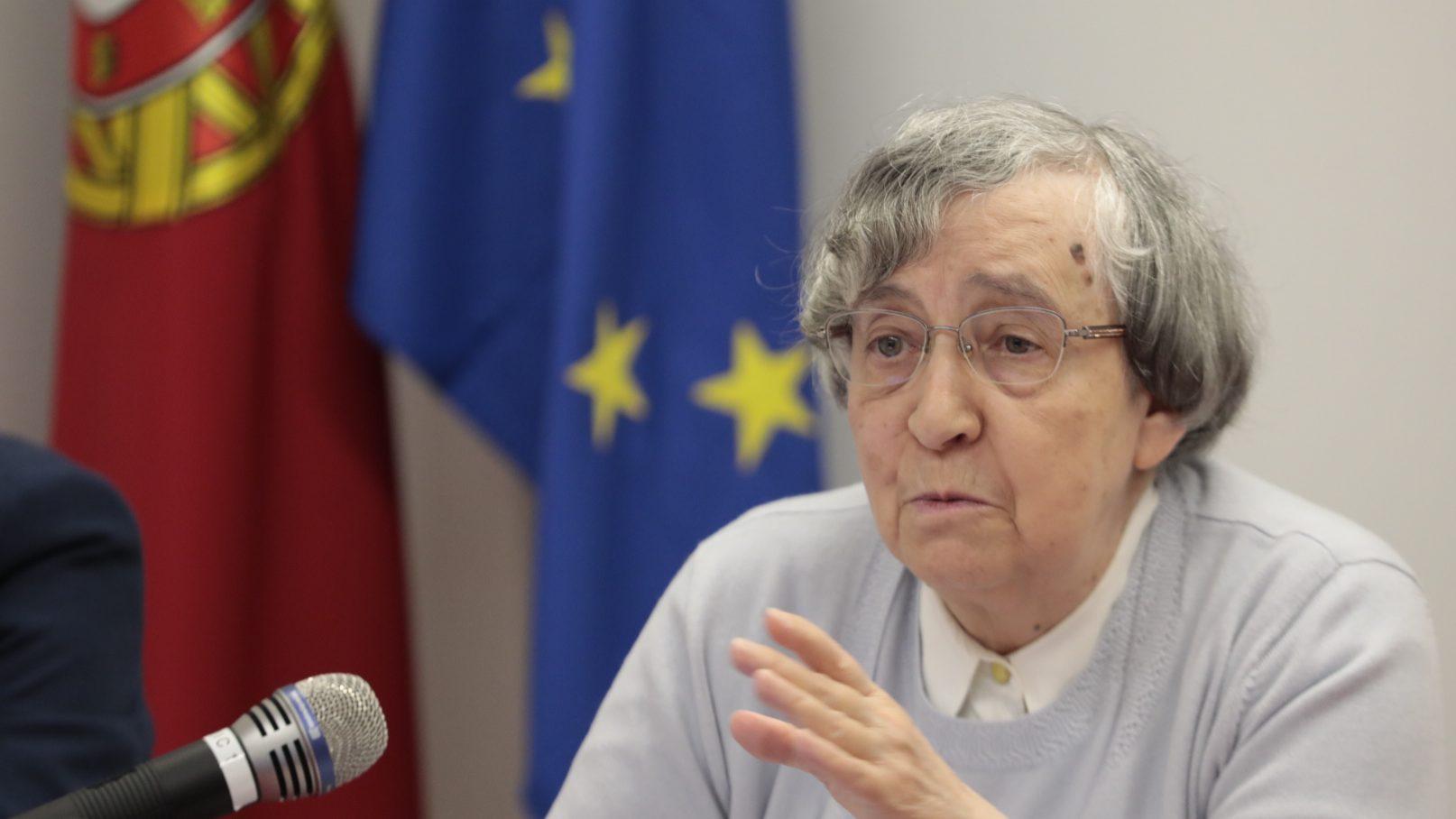 Teodora Cardoso, presidente do Conselho das Finanças Públicas.