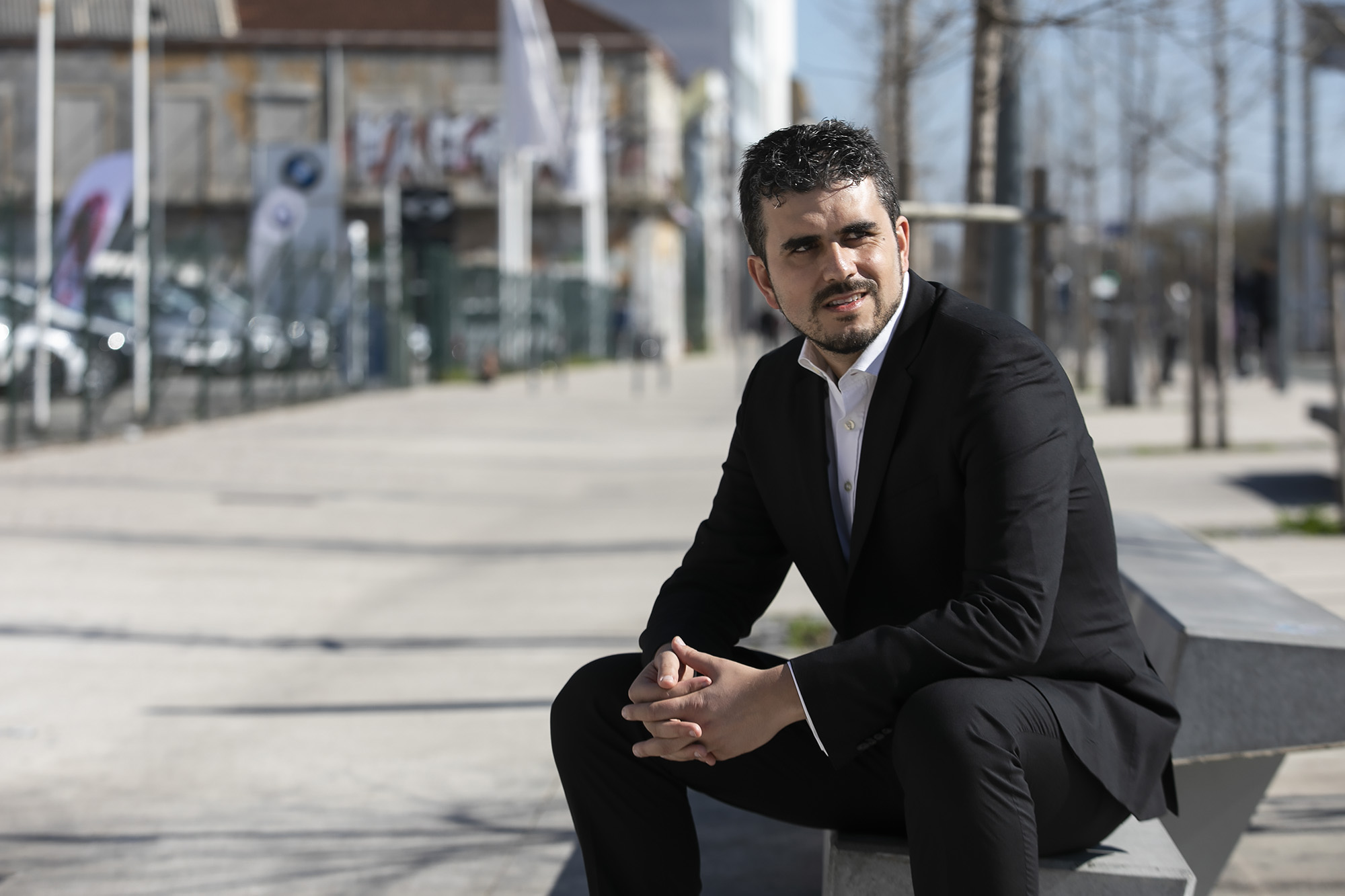 Carlos Guimarães Pinto, fundador do partido Iniciativa Liberal, em entrevista ao ECO - 12FEV19