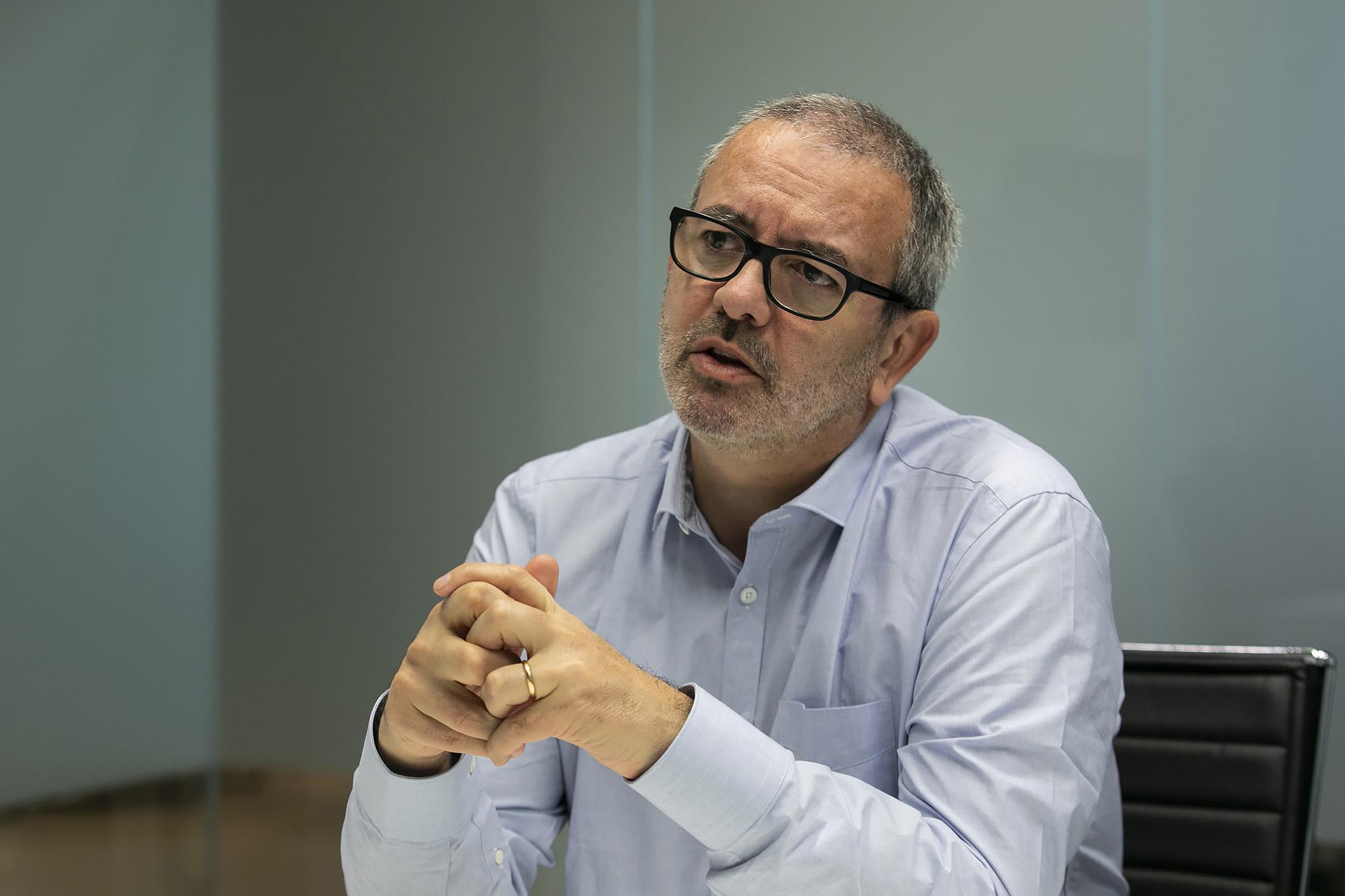 João Bugalho, CEO da Whitestar, em entrevista ao ECO