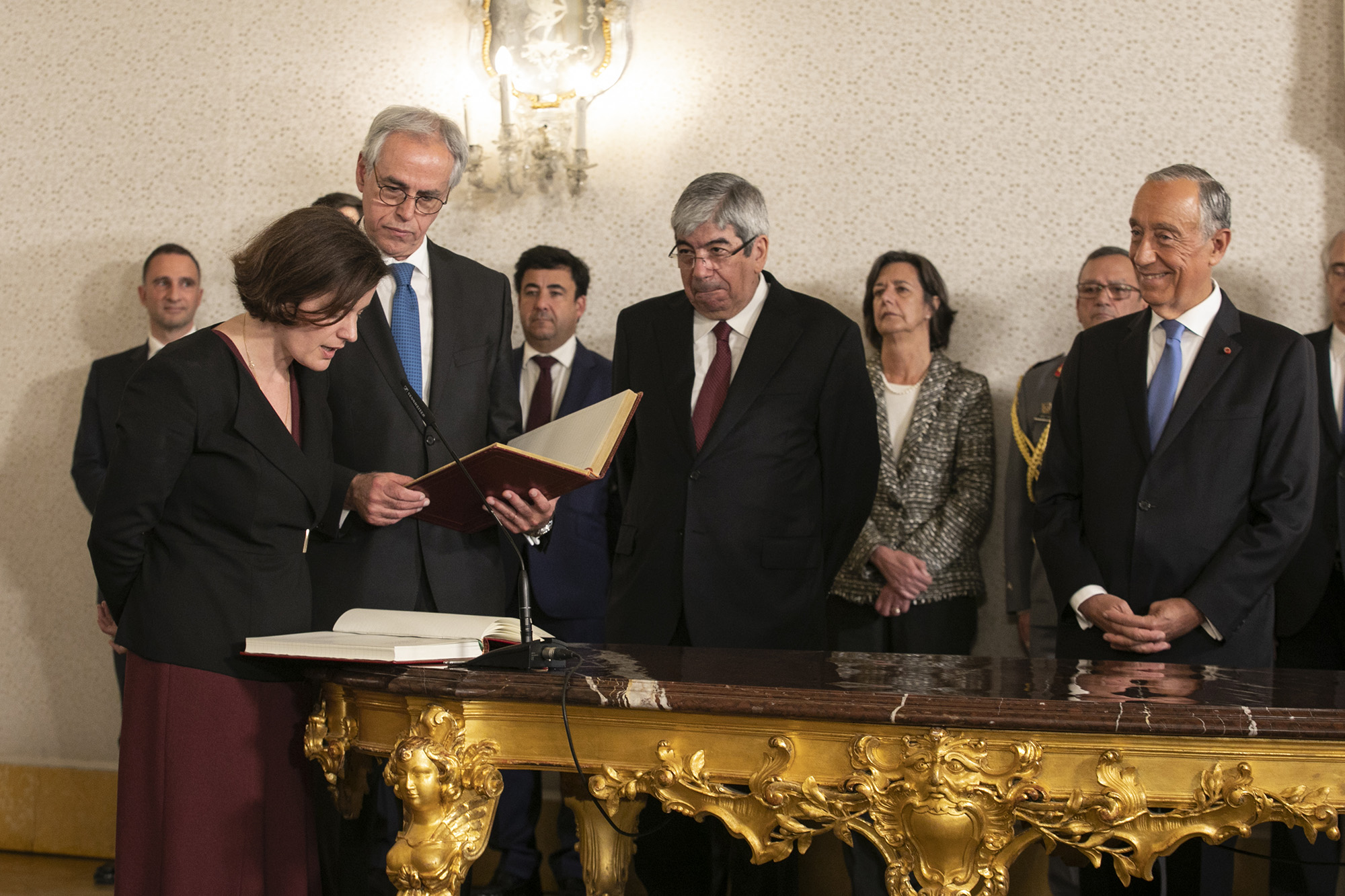 Tomada de posse dos novos elementos do XXI Governo Constitucional - 18FEV19