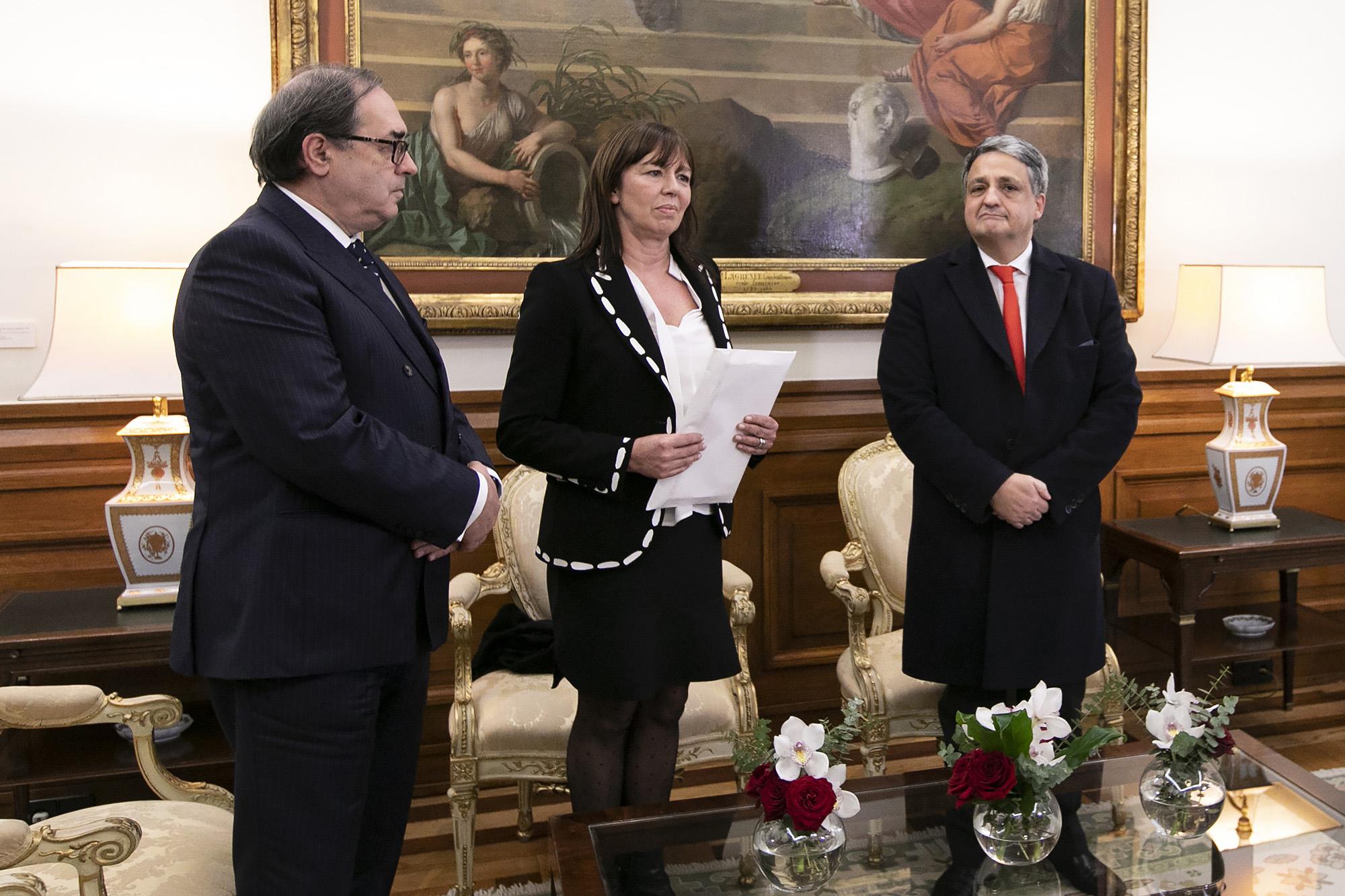 Paulo Macedo entrega na Assembleia o relatório da EY sobre a CGD - 01FEV19