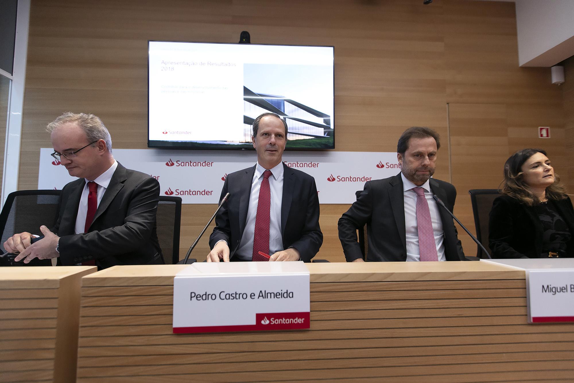 Apresentação de resultados do Santander Totta - 04FEV19