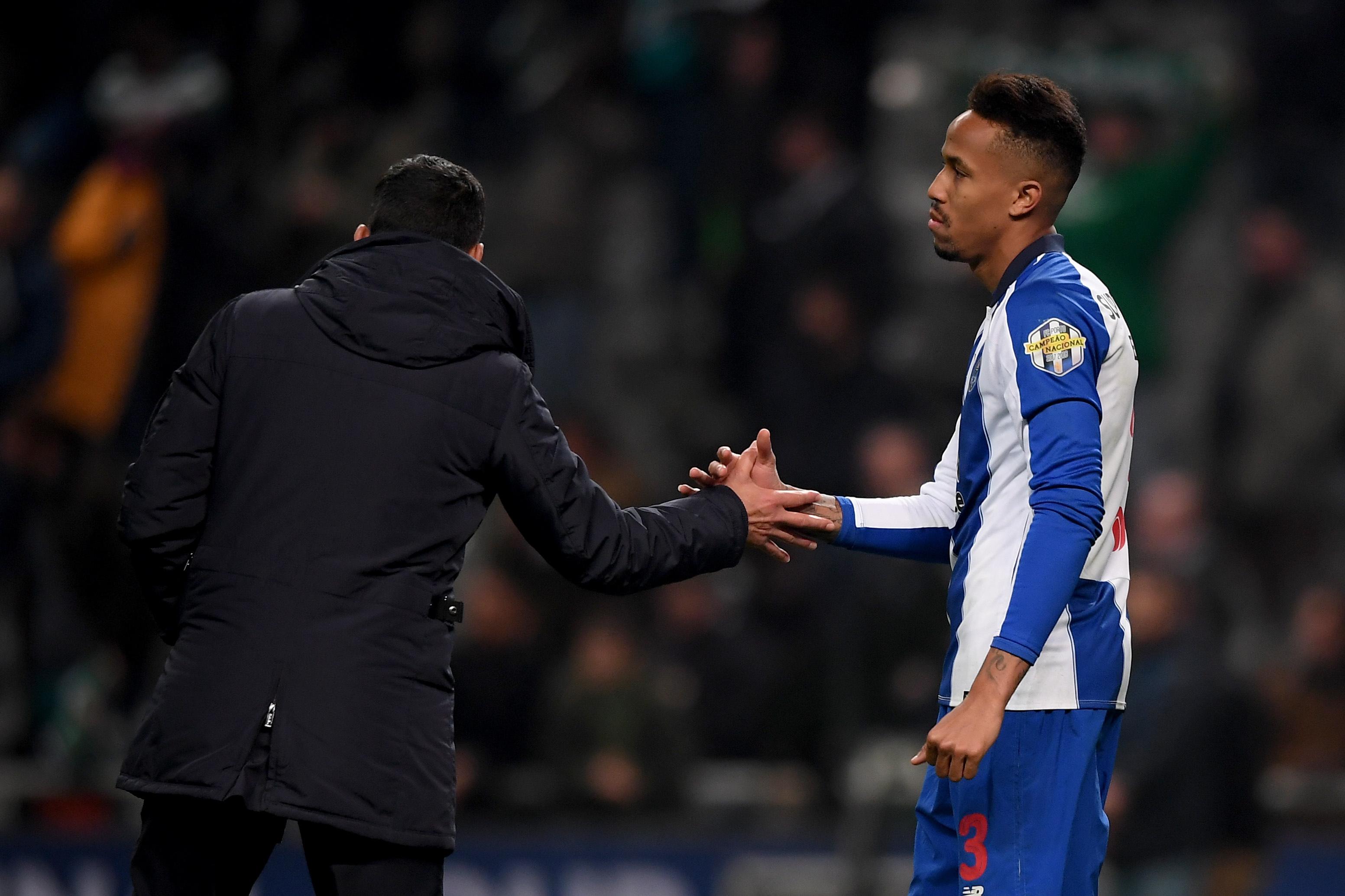 Eder Militão está de saída do FC Porto  muda-se para Madrid no final da  época a troco de 50 milhões de euros.Hugo Delgado EPA 15f81894e187e