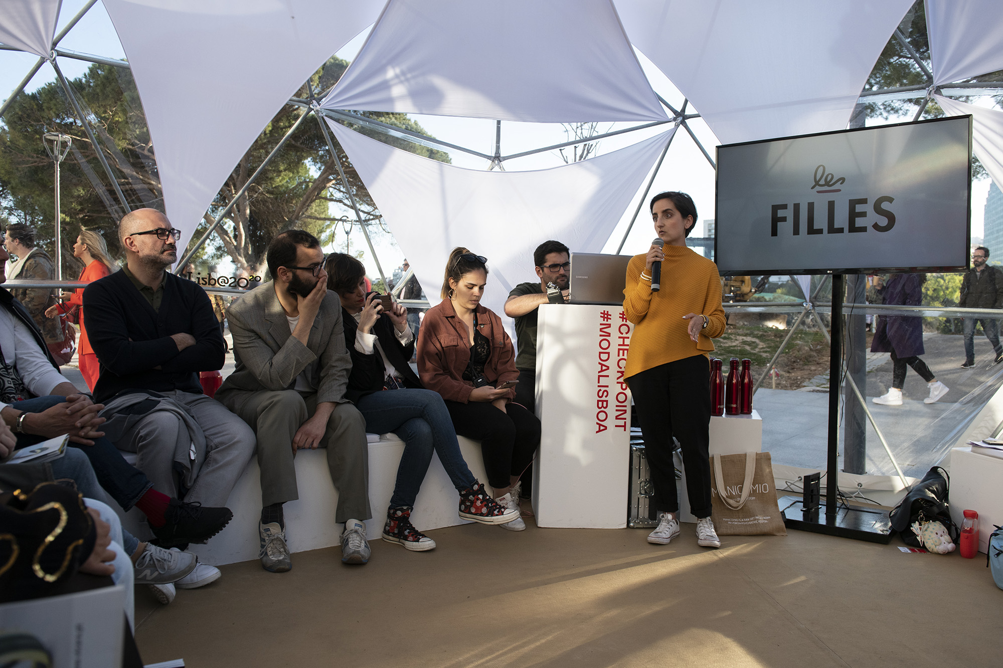 Speakers Corner na Moda Lisboa - 10MAR19