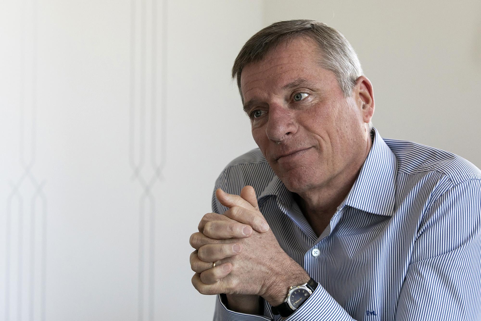 Eric van Leuven, diretor geral da Cushman & Wakefield Portugal, em entrevista ao ECO - 22MAR19