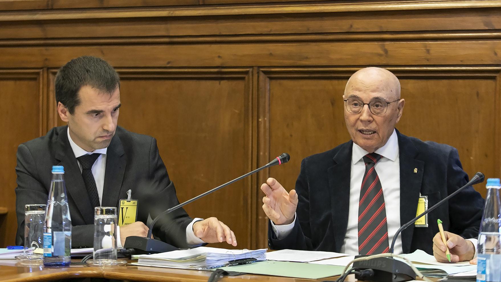 Manuel de Oliveira Rego é ouvido perante a II COMISSÃO PARLAMENTAR DE INQUÉRITO À RECAPITALIZAÇÃO DA CAIXA GERAL DE DEPÓSITOS E À GESTÃO DO BANCO - 02ABR19