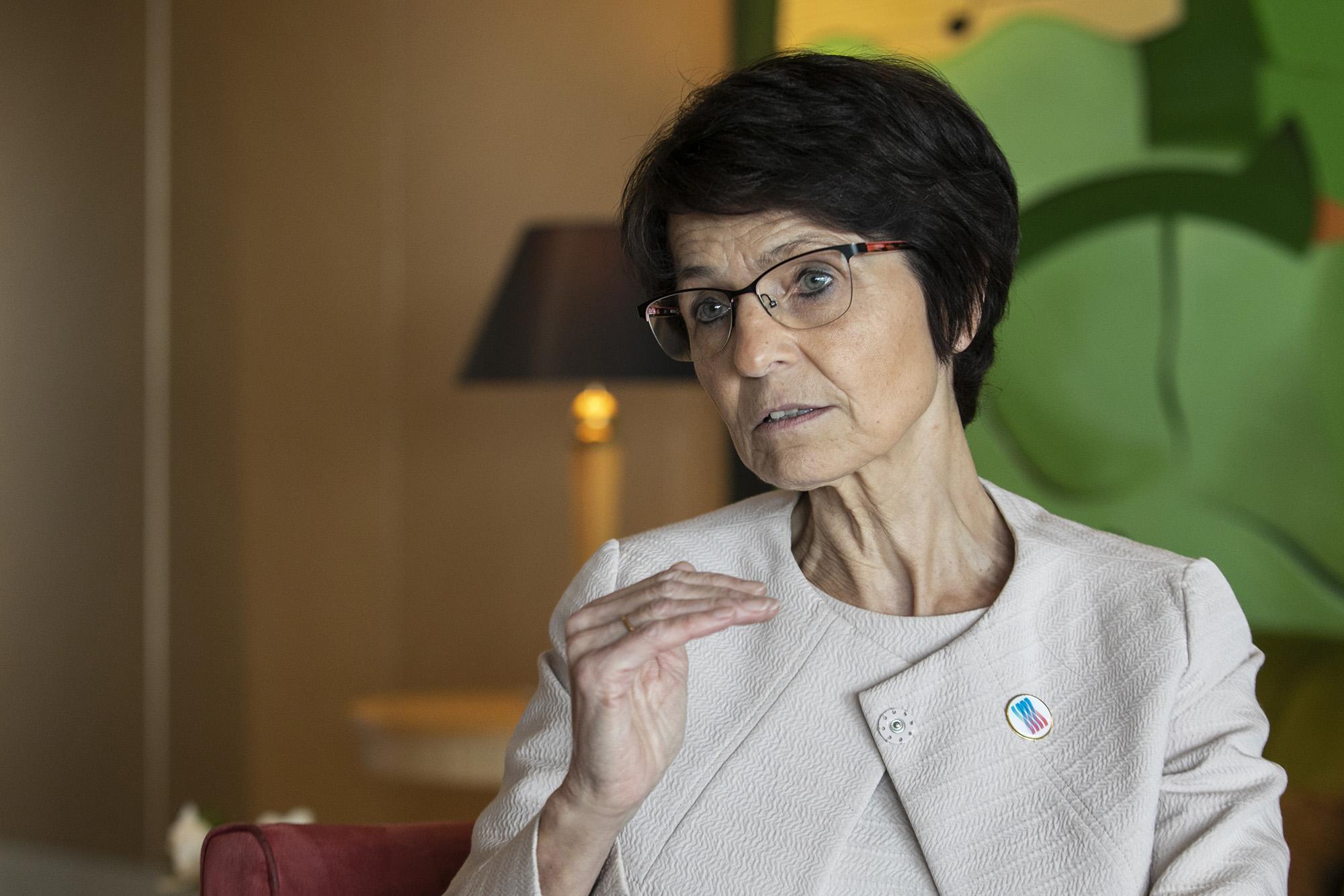 A Comissária Europeia para o Emprego Marianne Thyssen em entrevista ao ECO - 03ABR19