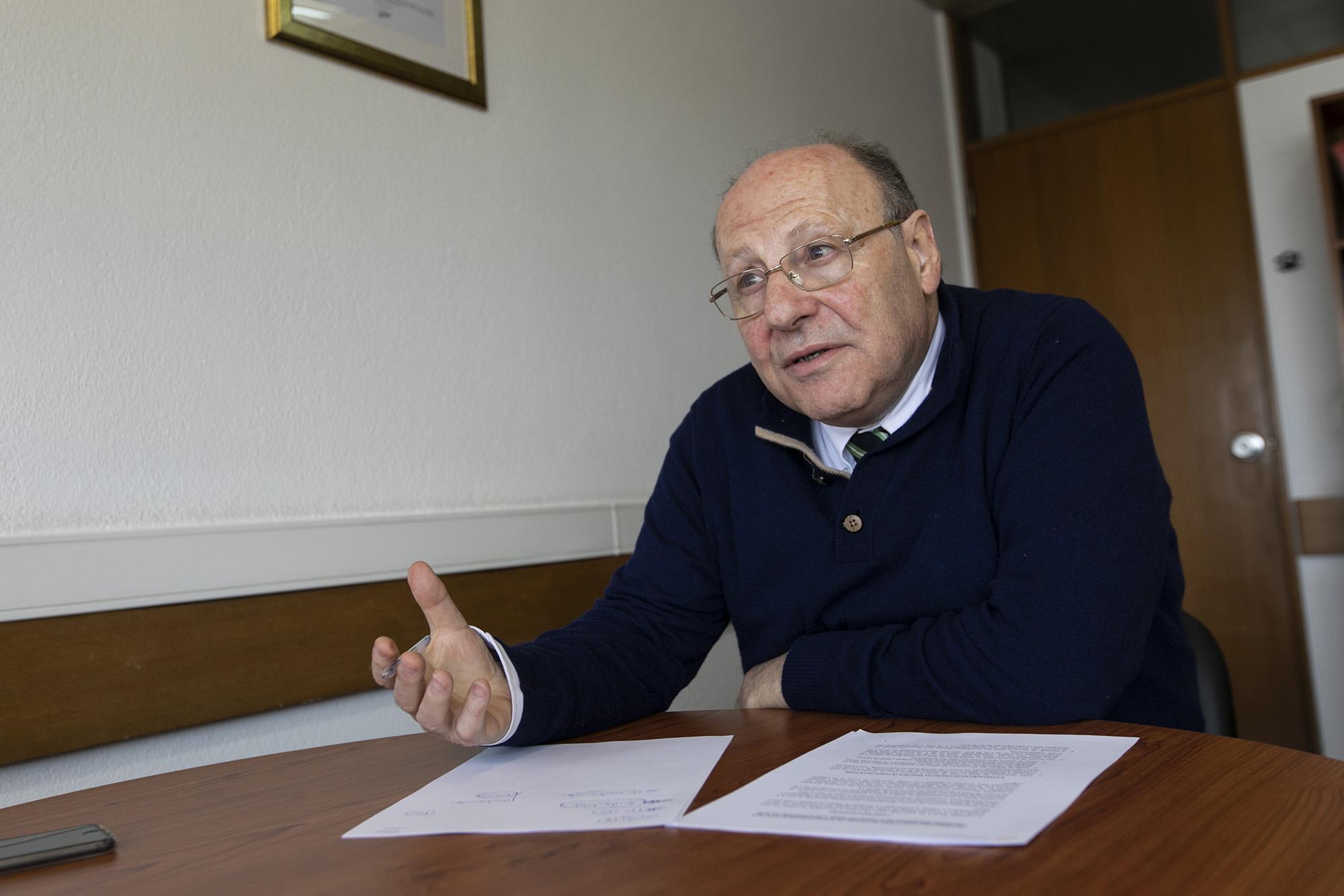 João Proença, presidente do Conselho Geral e de Supervisão da ADSE, em entrevista ao ECO - 09ABR19