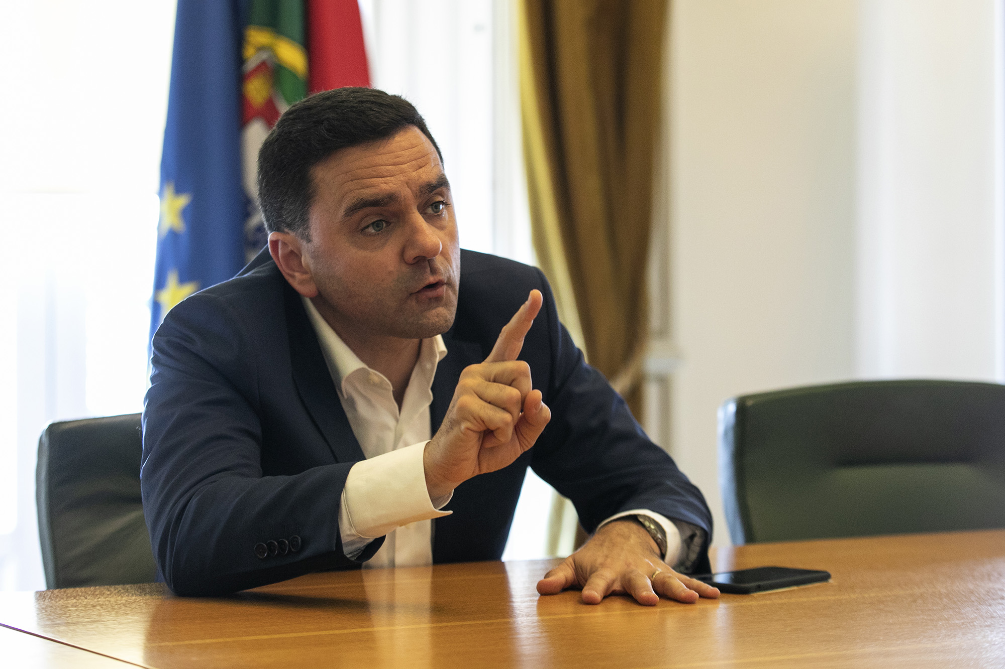 Pedro Marques em entrevista ao ECO - 11ABR19