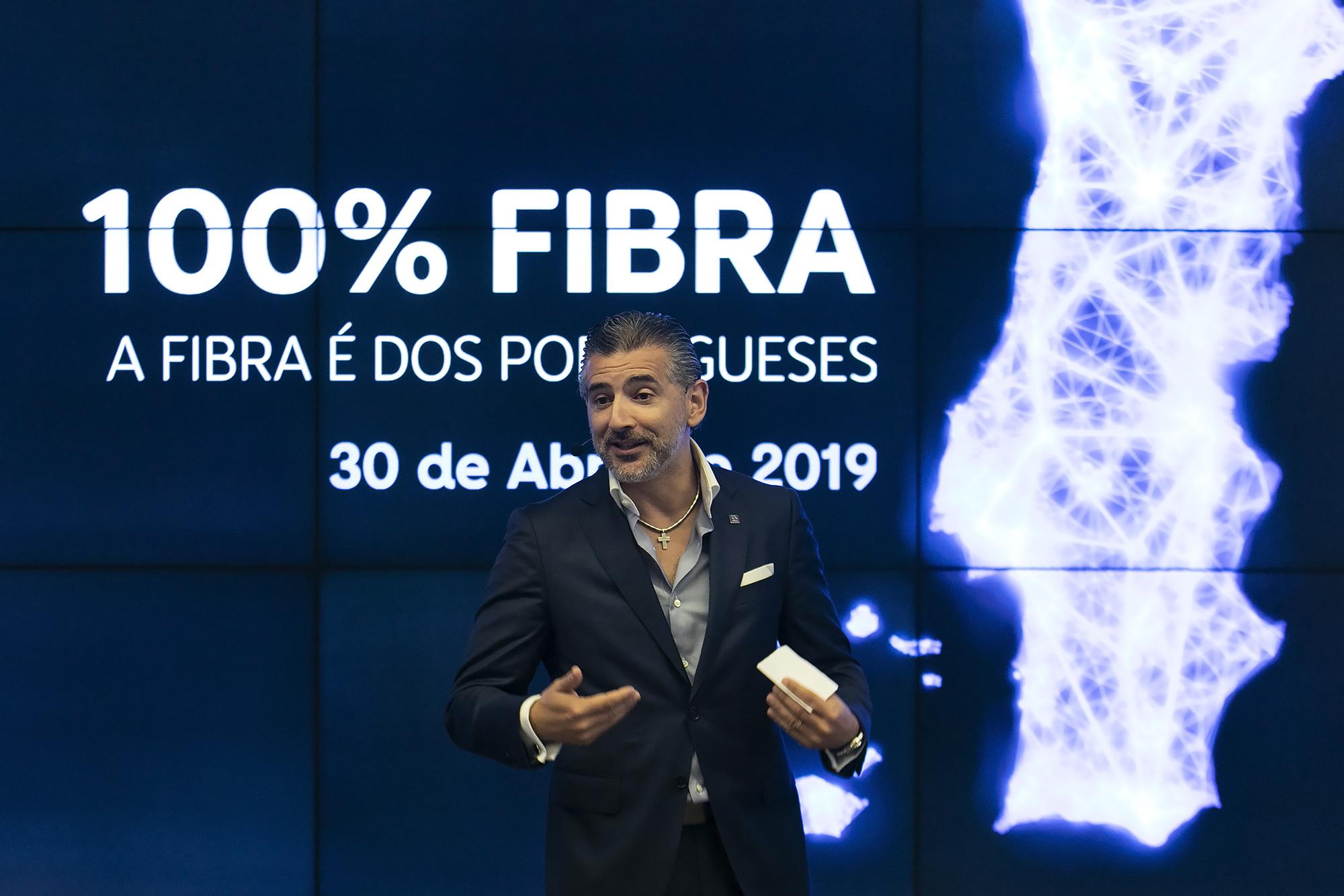"""Altice apresenta """"100% Fibra"""" - 30ABR19"""