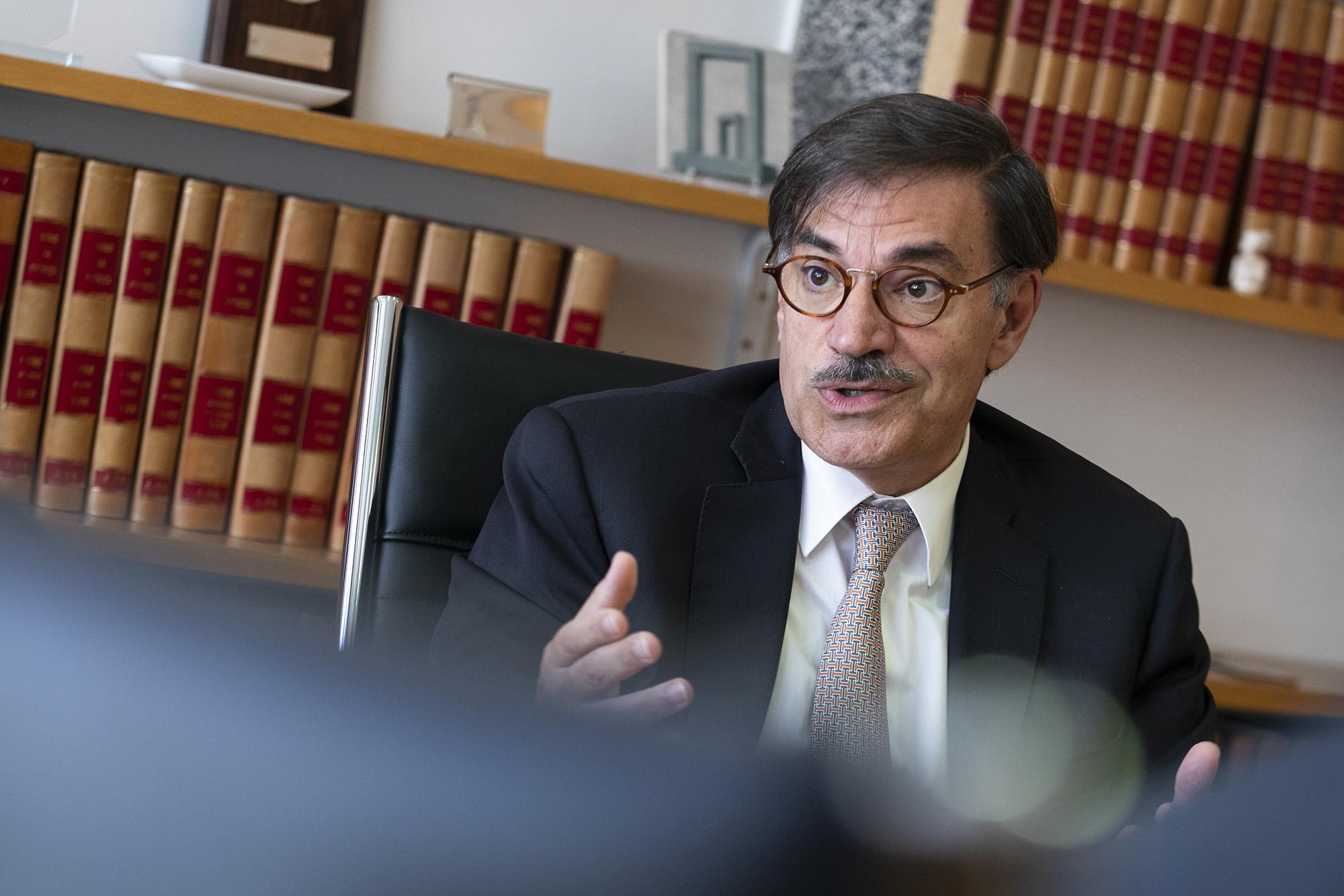 José Galamba de Oliveira, pesidente da Associação Portuguesa de Seguradores, em entrevista ao ECO - 30MAI19