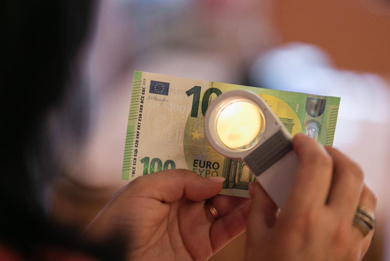 Apresentação da nova série de notas de 100 e 200 euros - 27MAI19