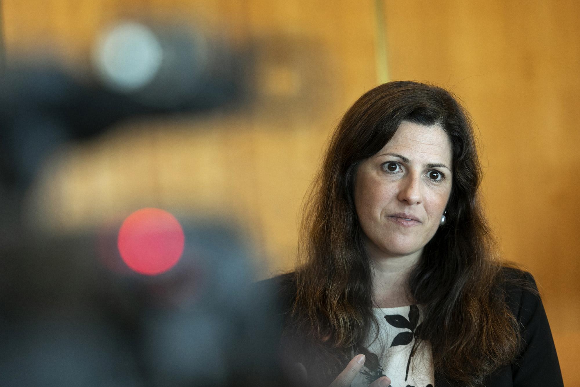 Cláudia Joaquim, Secretária de Estado da Segurança Social, em entrevista ao ECO - 19JUN19