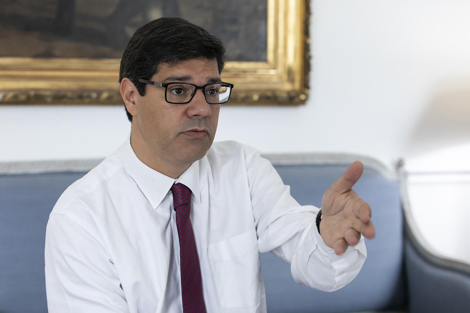 Eurico Brilhante Dias, Secretário de Estado da Internacionalização, em entrevista ao ECO - 24JUN19