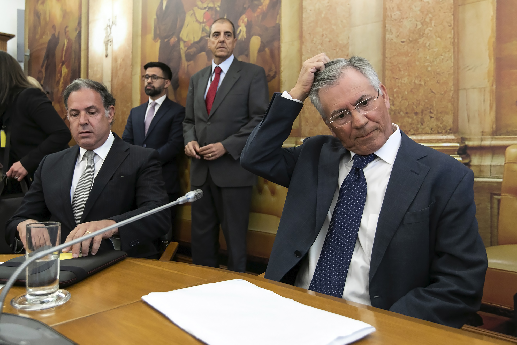 Armando Vara é ouvido perante a II COMISSÃO PARLAMENTAR DE INQUÉRITO À RECAPITALIZAÇÃO DA CAIXA GERAL DE DEPÓSITOS E À GESTÃO DO BANCO