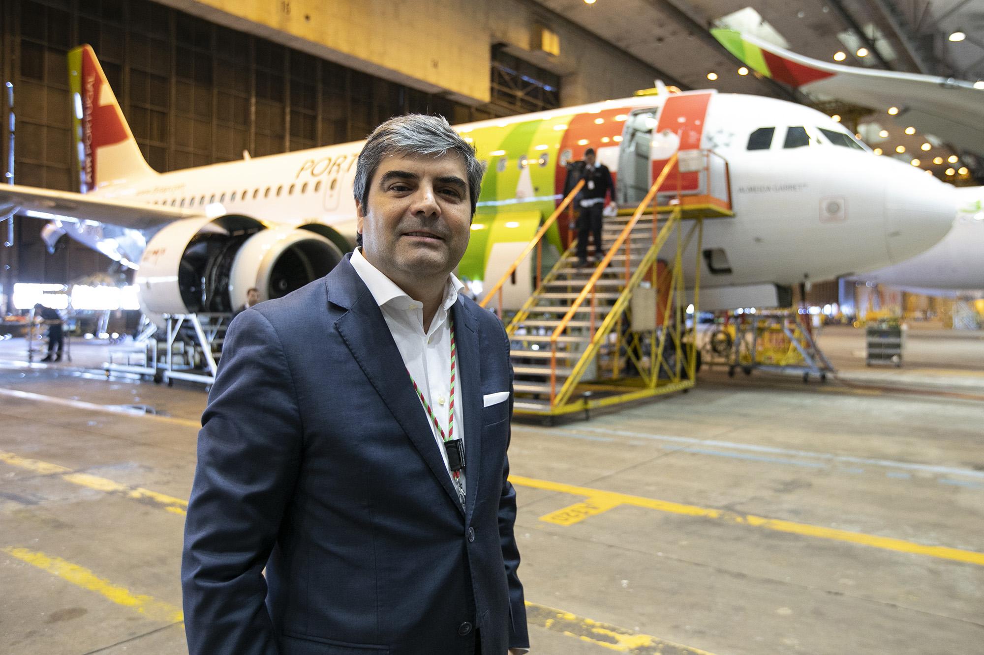 Pedro Ramos, diretor de RH da TAP, em entrevista à Pessoas