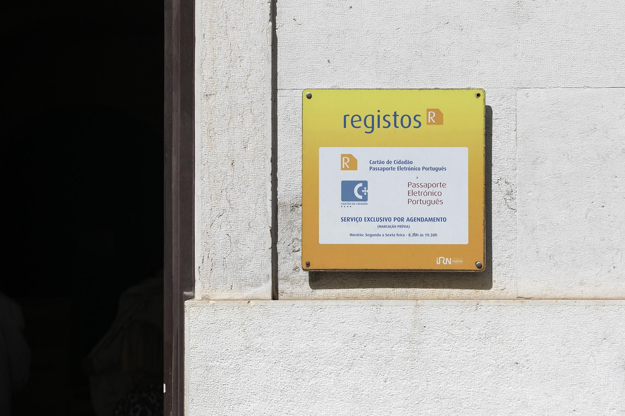 Instituto dos Registos e Notariado - balcão Lisboa-Boa Hora - 08JUL19