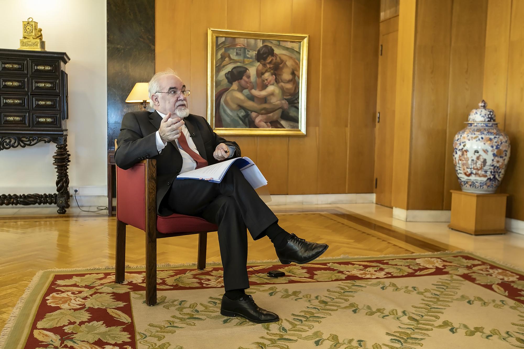 José Vieira da Silva, Ministro do Trabalho, Solidariedade e Segurança Social, em entrevista ao ECO - 30SET19