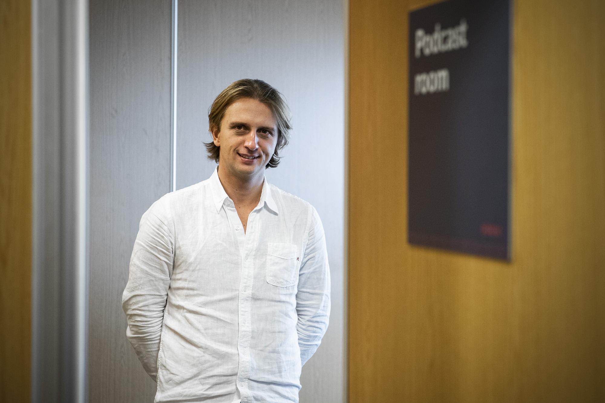Nikolay Storonsky, CEO da Revolut, em entrevista ao ECO - 07NOV19