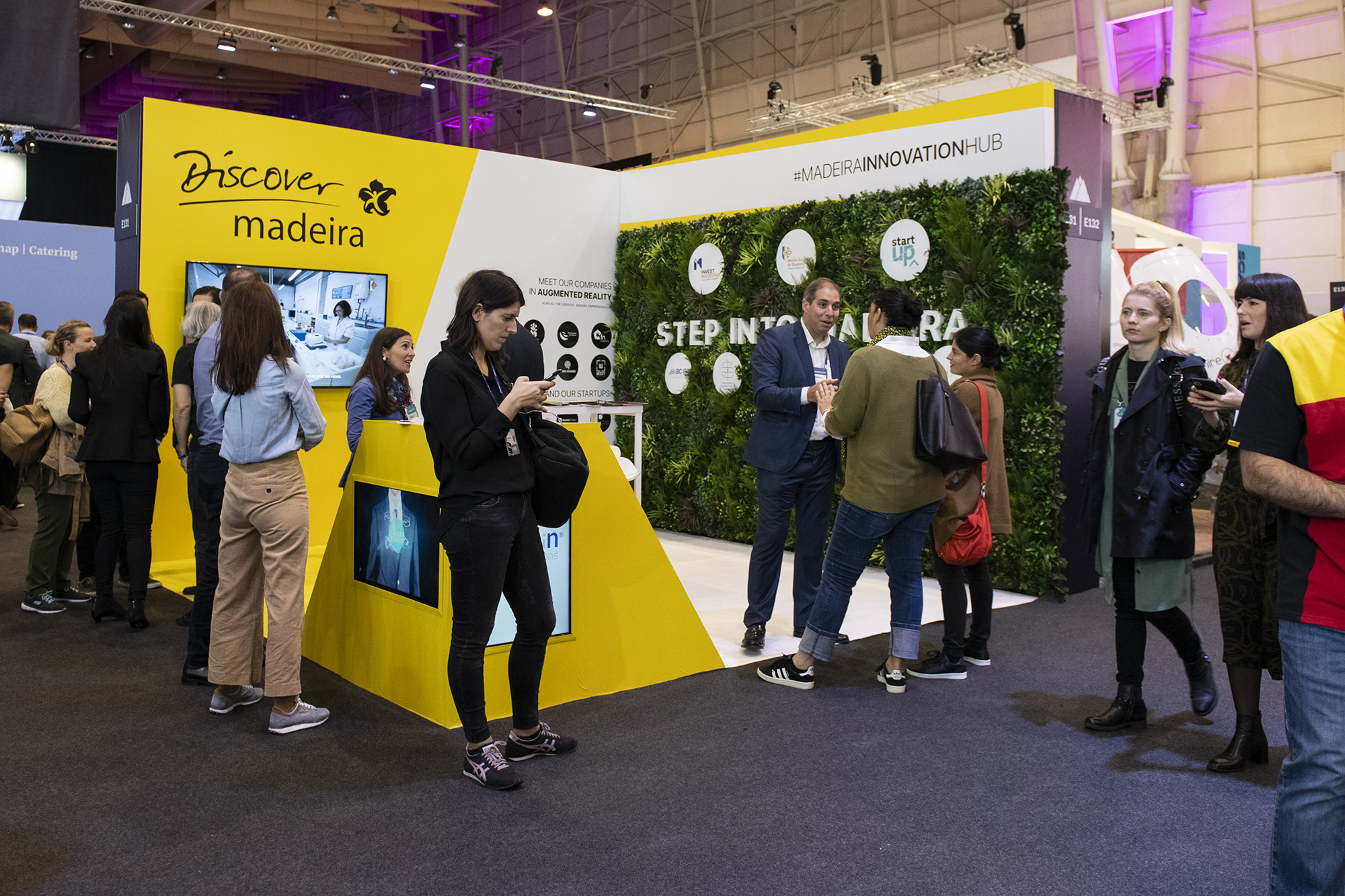 Stand da Madeira Innovation Hub no Web Summit 2019 - 06NOV19