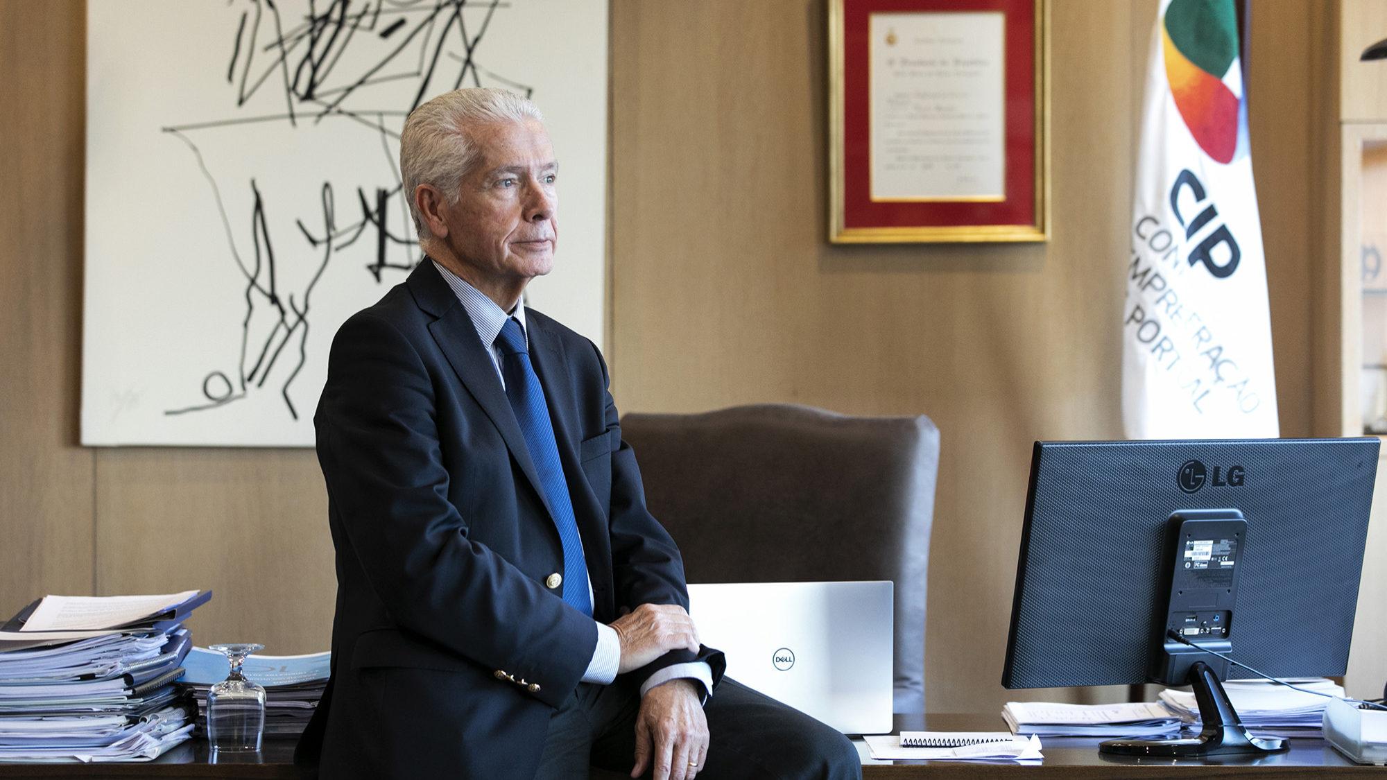 António Saraiva, presidente da CIP, em entrevista ao ECO - 04DEZ19