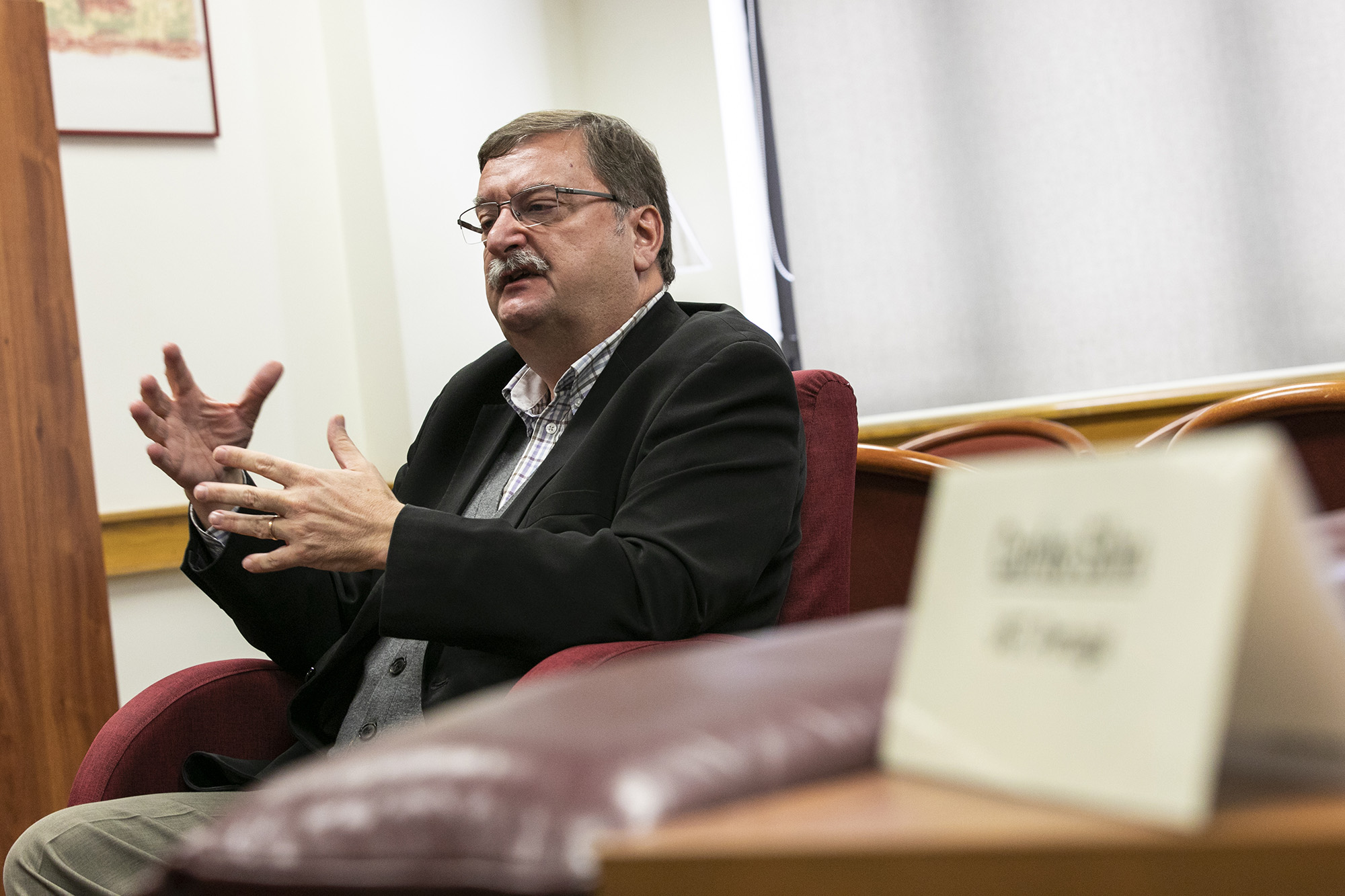 Carlos Silva, secretário-geral da UGT, em entrevista ao ECO - 29JAN20