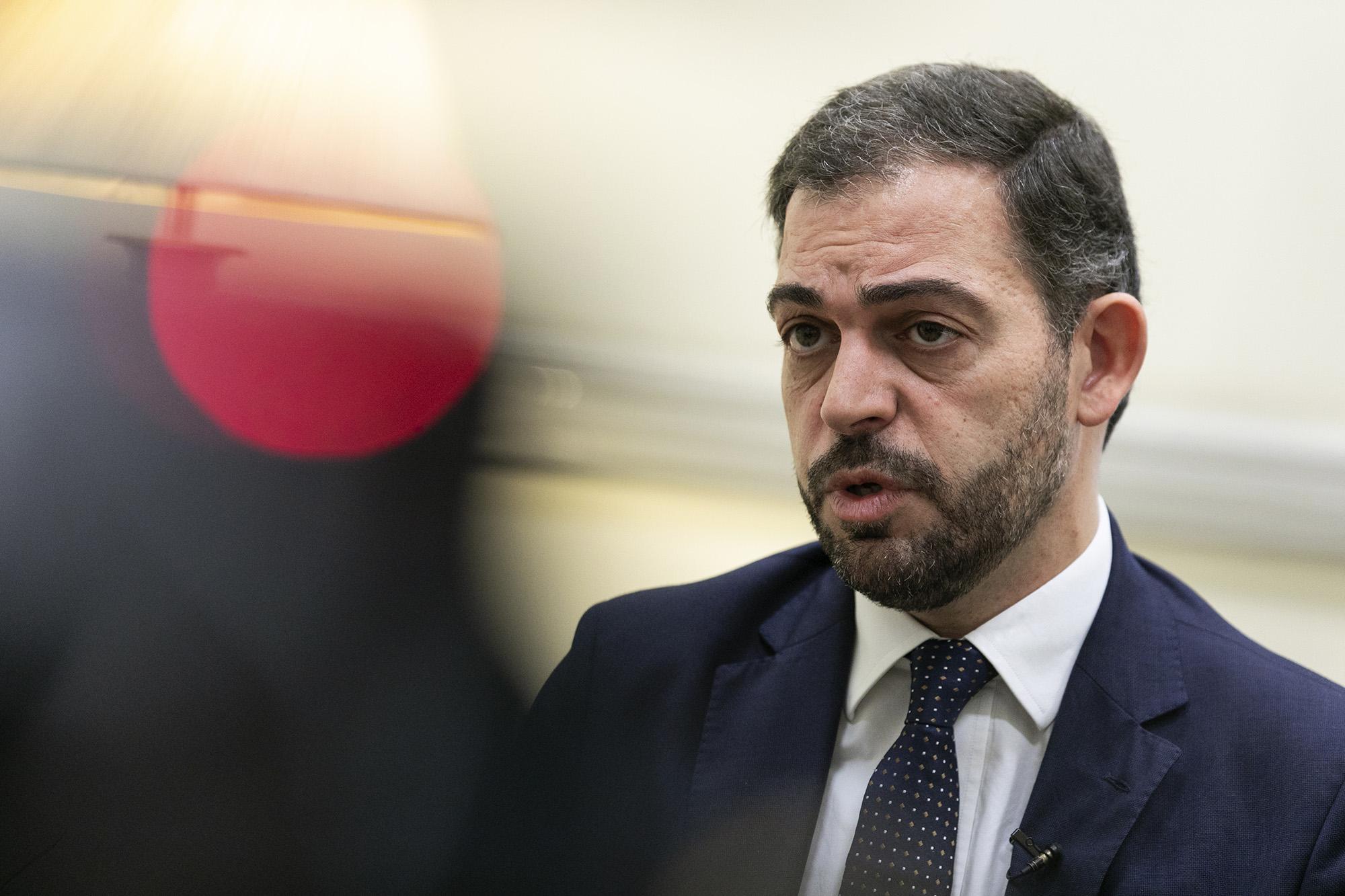 Duarte Cordeiro, Secretário de Estado dos Assuntos Parlamentares, em entrevista ao ECO - 15JAN20