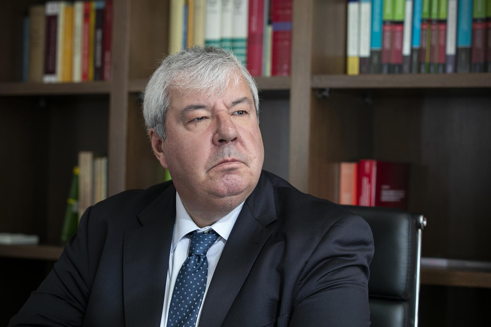 Luís Menezes Leitão, bastonário da Ordem dos Advogados, em entrevista ao ECO/Advocatus - 07JAN20