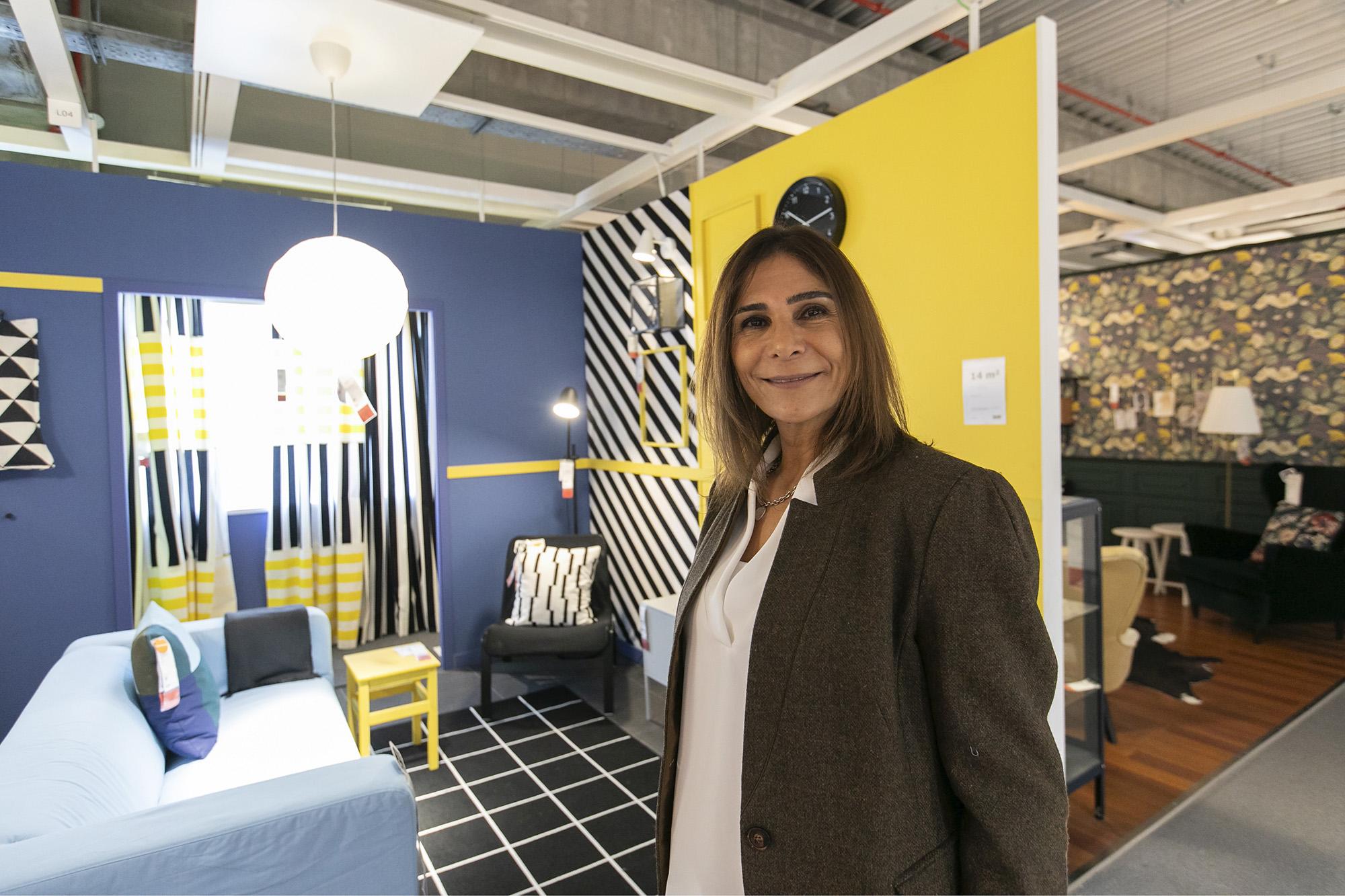 Sari Brody, responsável pela igualdade, diversidade e inclusão do grupo IKEA, em entrevista ao ECO/Pessoas