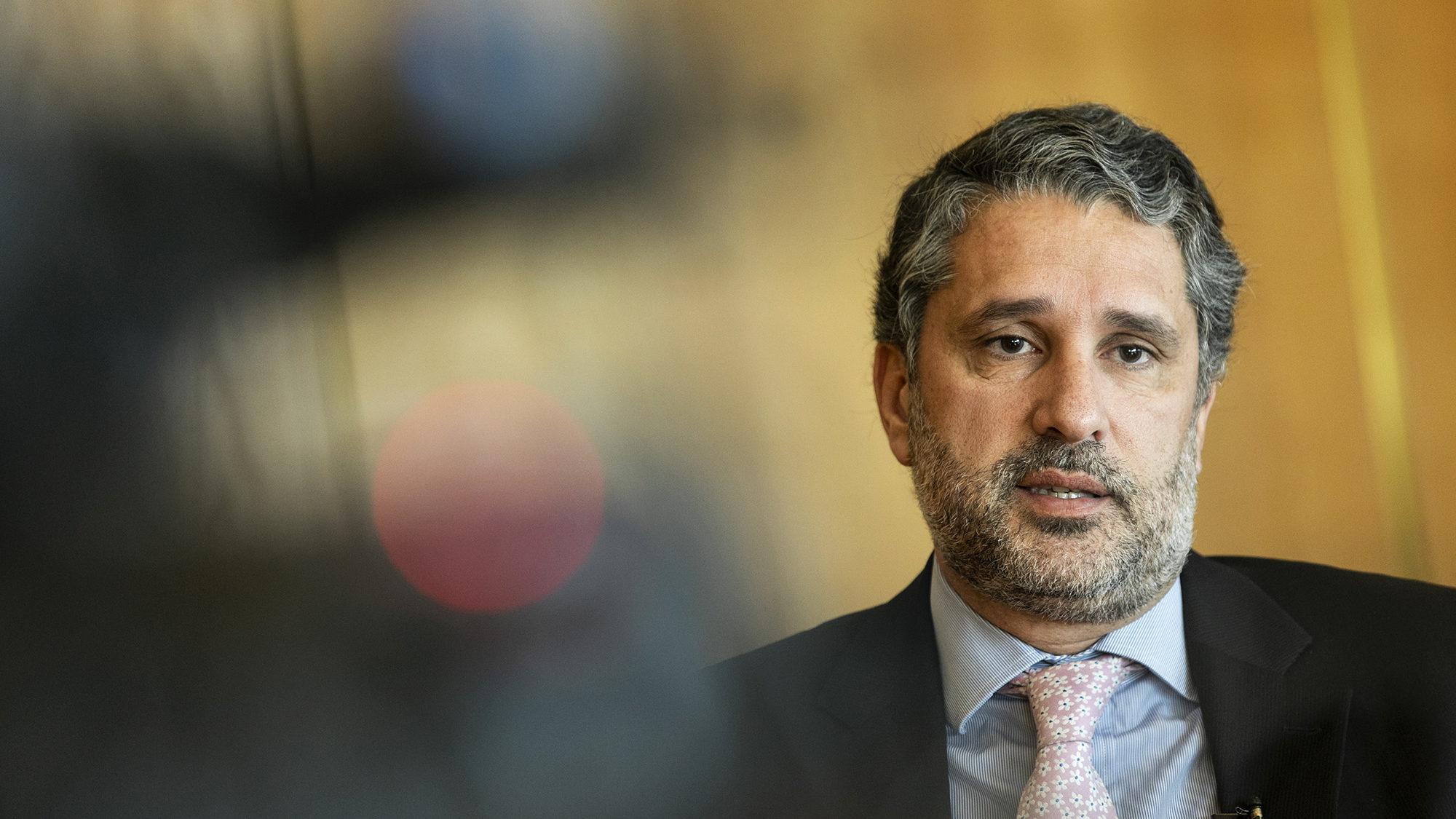 Gabriel Bastos, Secretário de Estado da Segurança Social, em entrevista ao ECO - 21FEV20